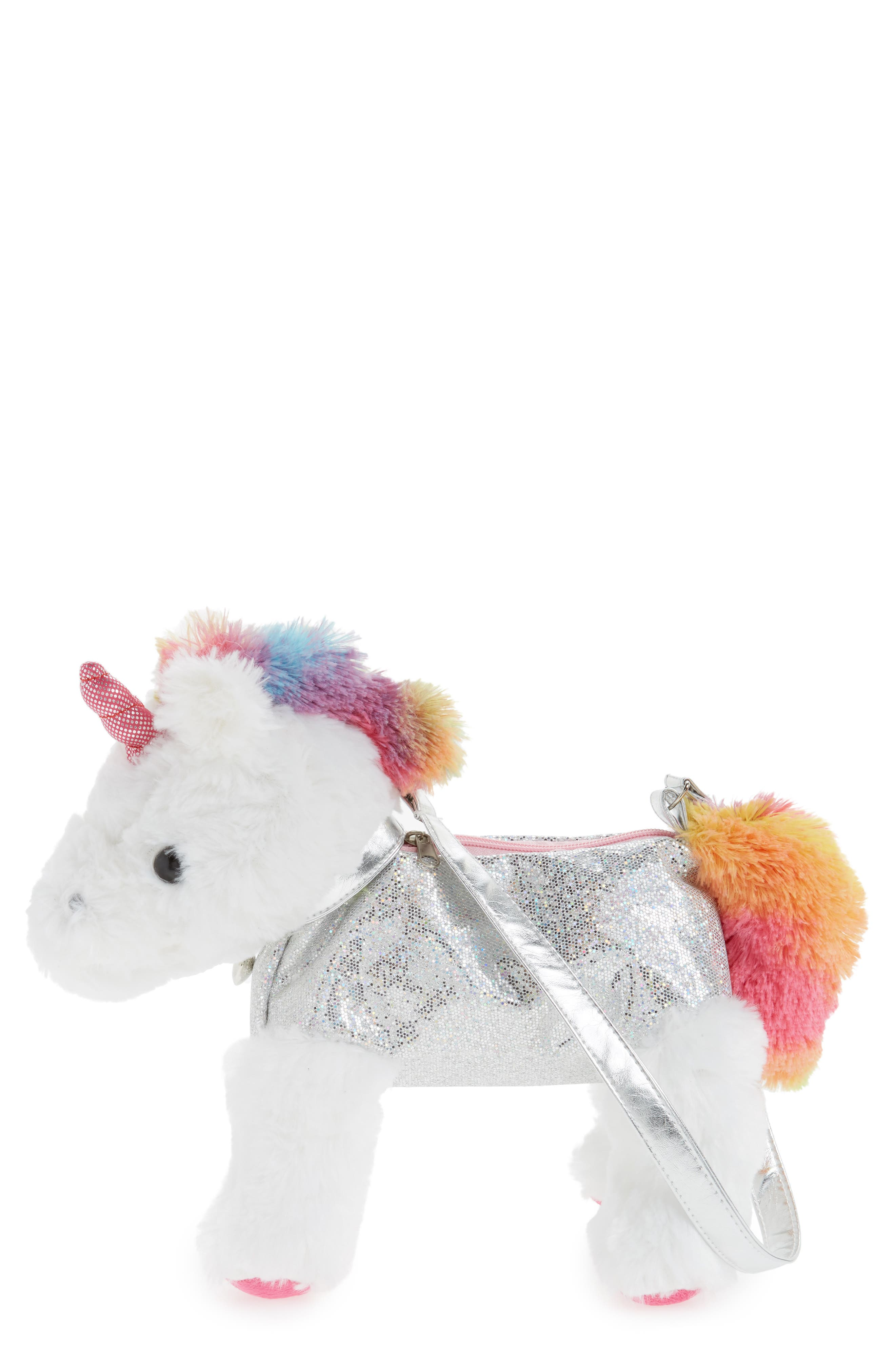 Capelli New York Magical Unicorn Shoulder Bag (Girls)