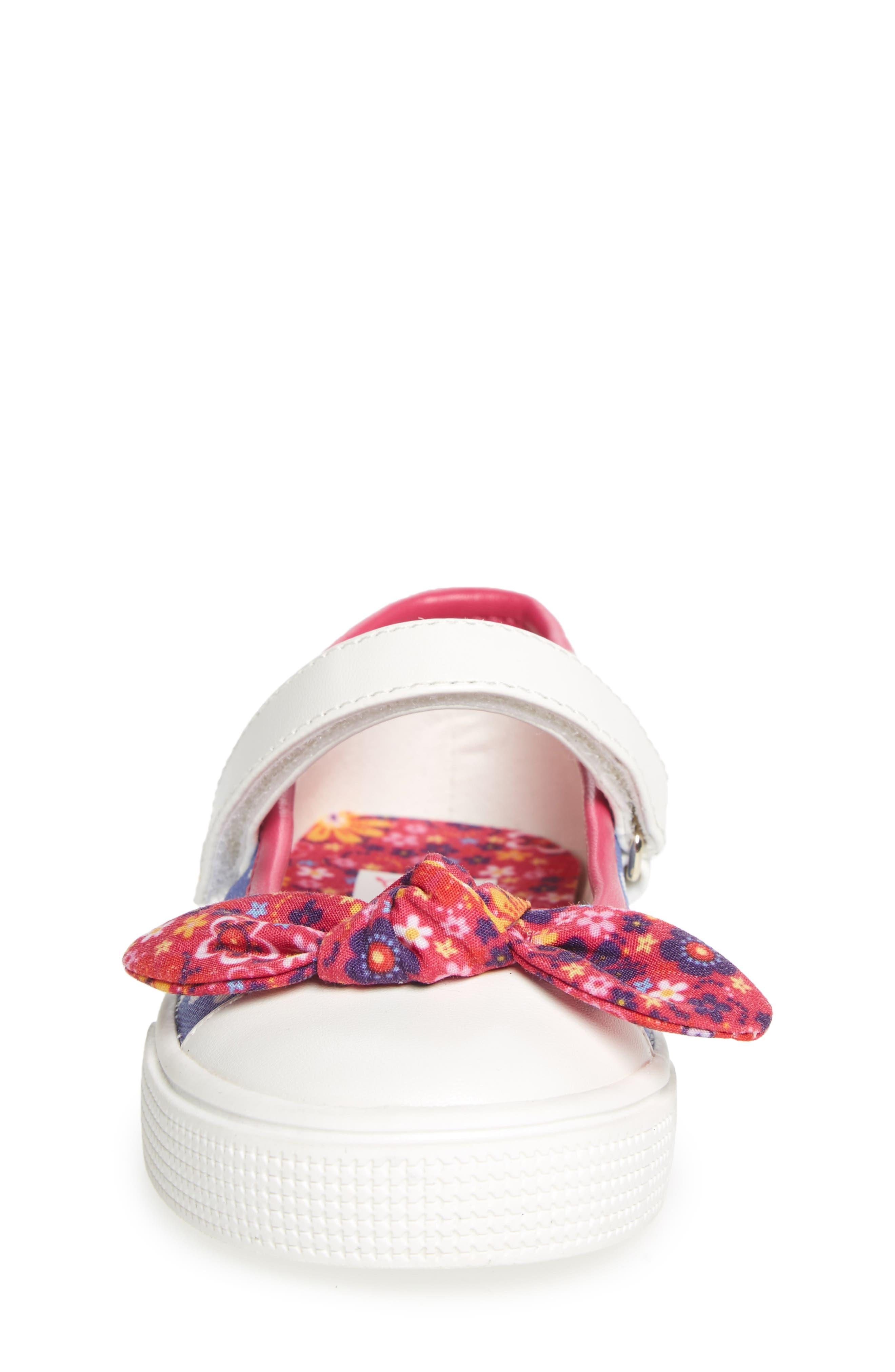 Kendall Mary Jane Sneaker,                             Alternate thumbnail 4, color,                             Purple