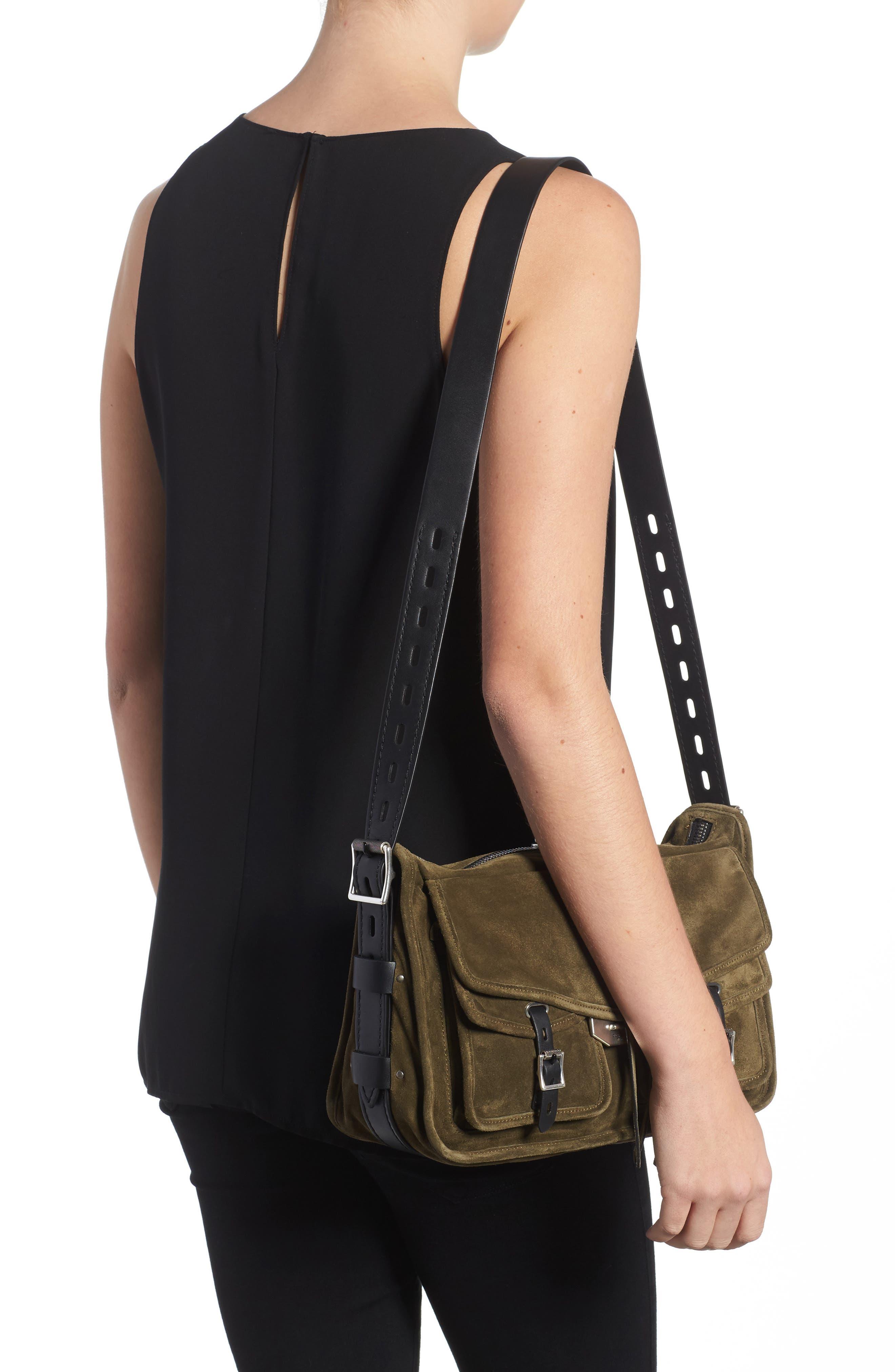 Alternate Image 2  - rag & bone Field Messenger Suede Shoulder Bag