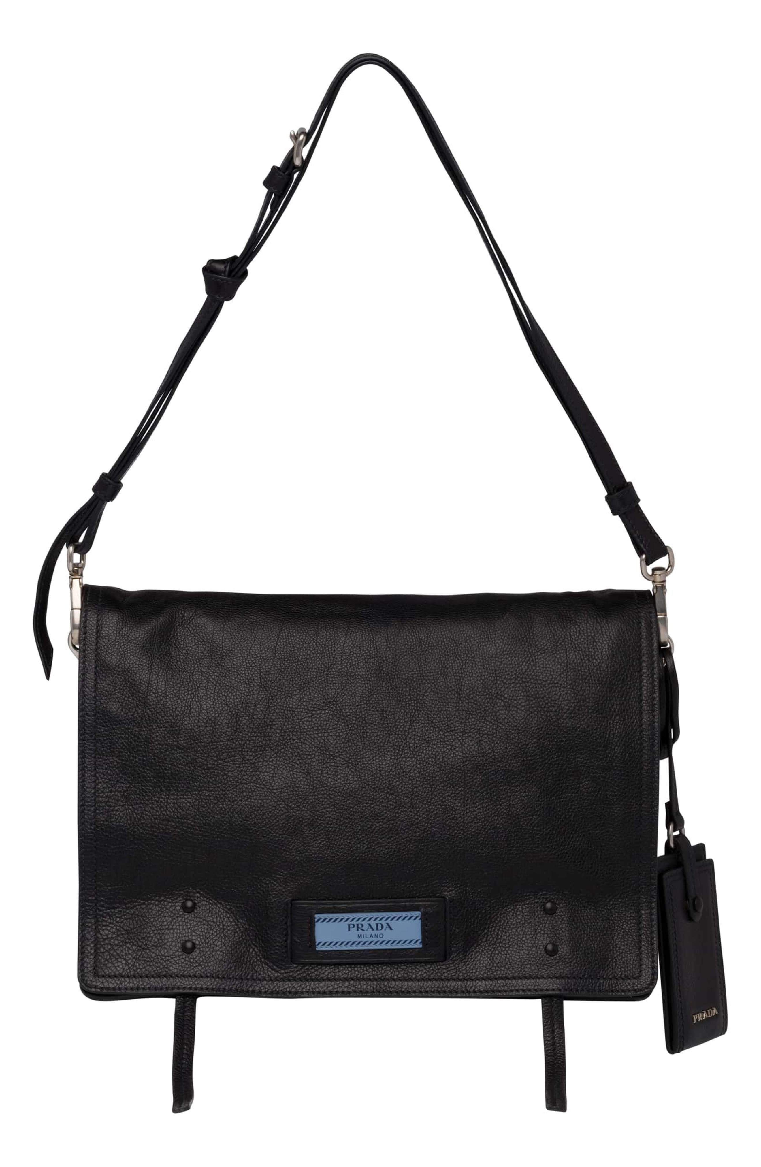Cahier Glace Messenger Bag,                             Main thumbnail 1, color,                             Nero/ Astrale