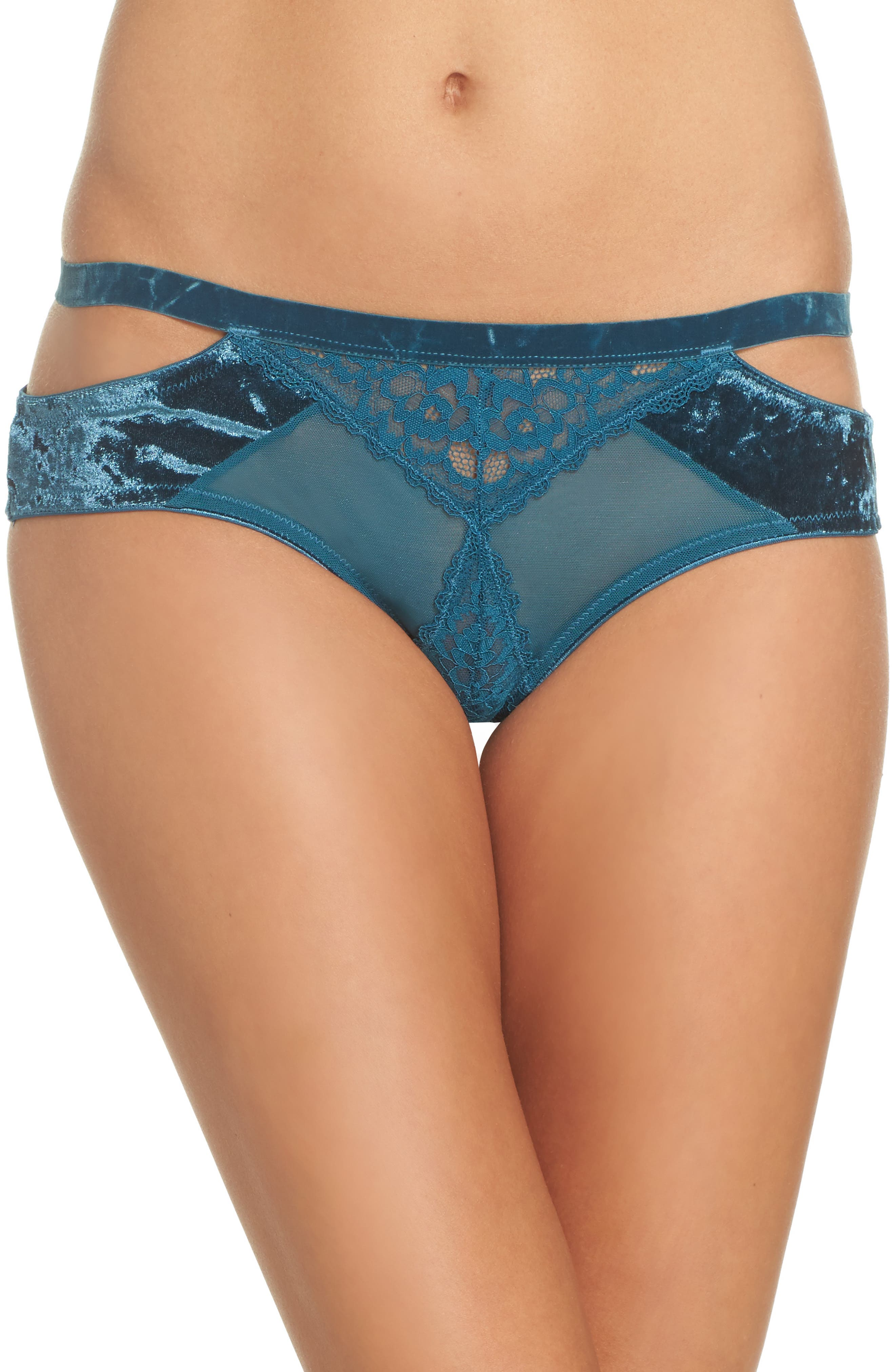 Main Image - Honeydew Intimates Cutout Bikini