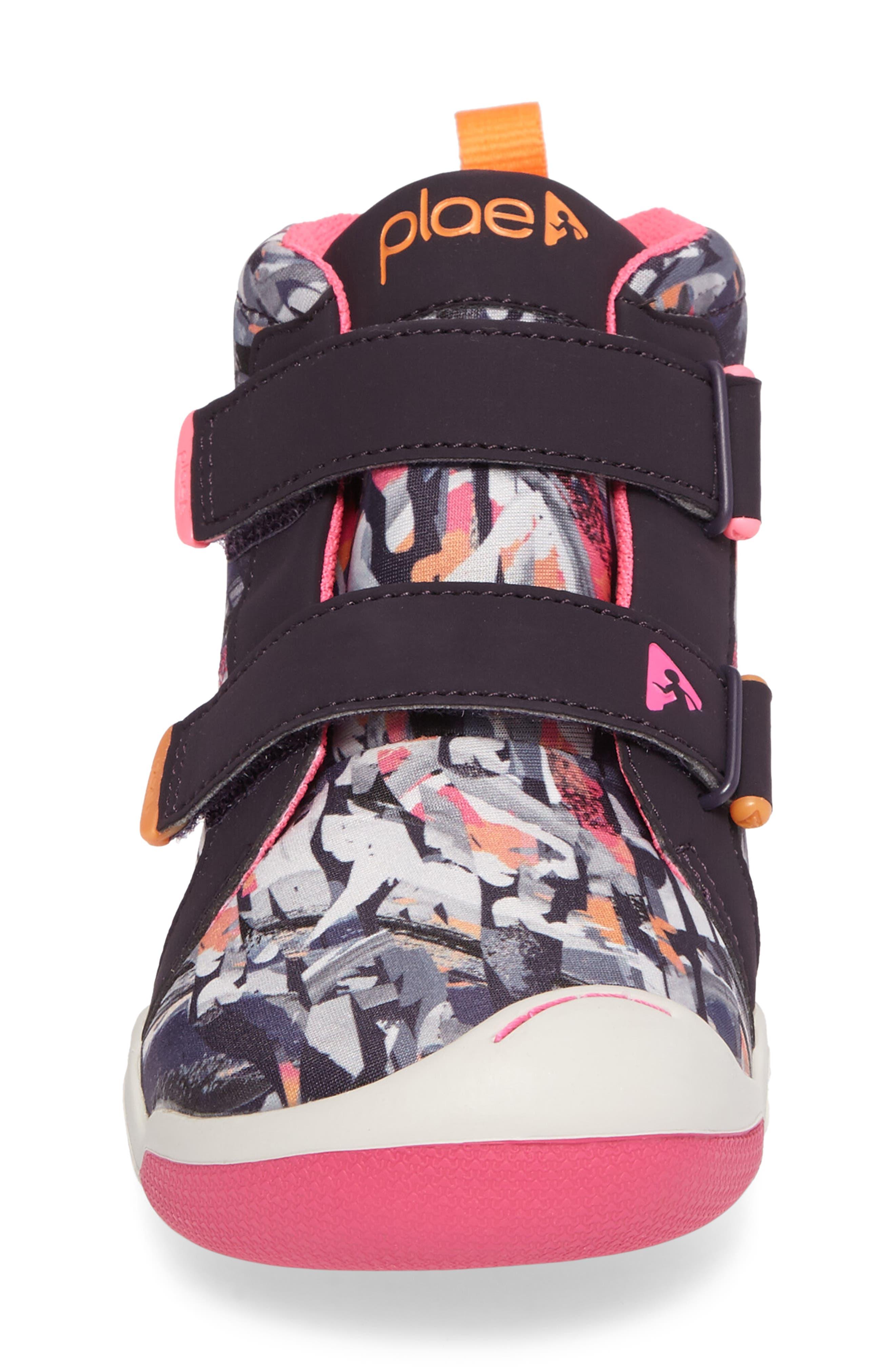 Alternate Image 4  - PLAE Max Customizable Mid Top Sneaker (Toddler & Little Kid)