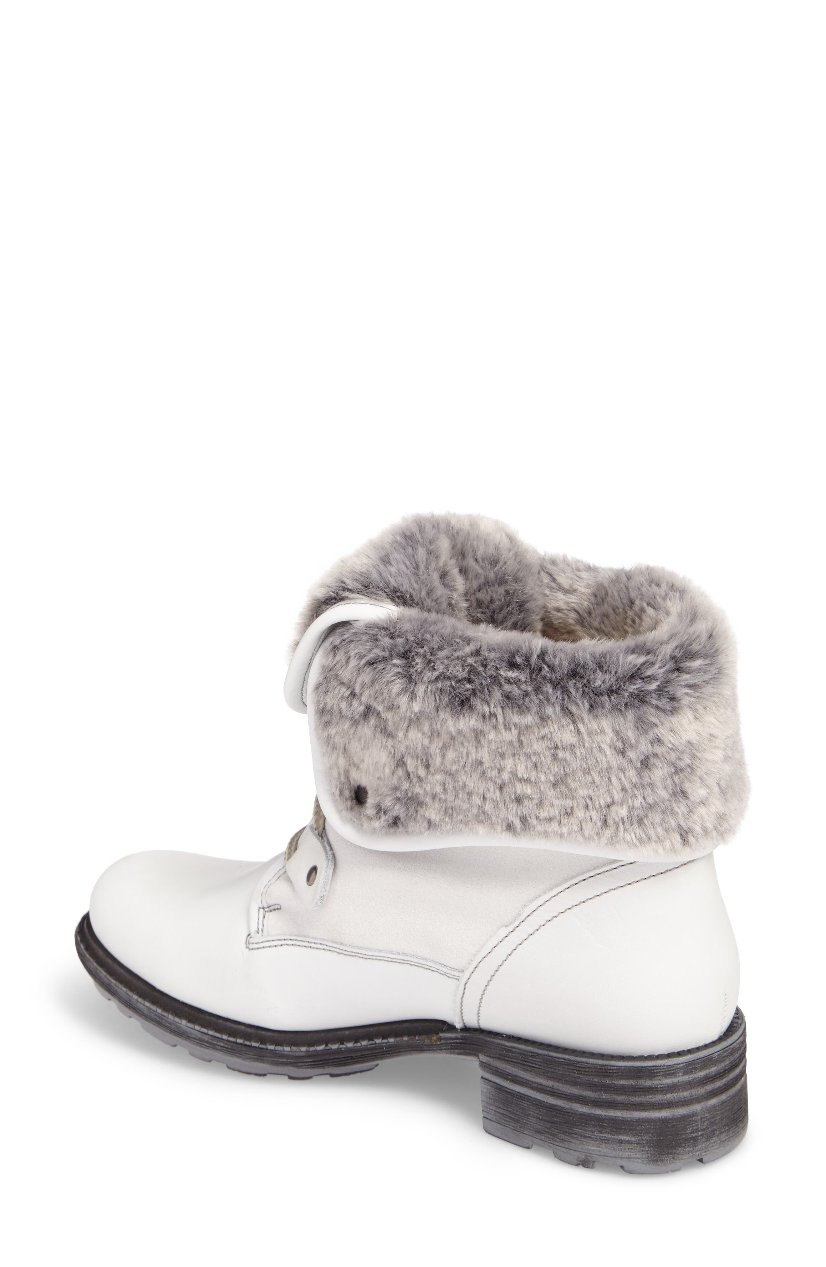 Springfield Waterproof Winter Boot,                             Alternate thumbnail 2, color,                             White/ Grey/ Black