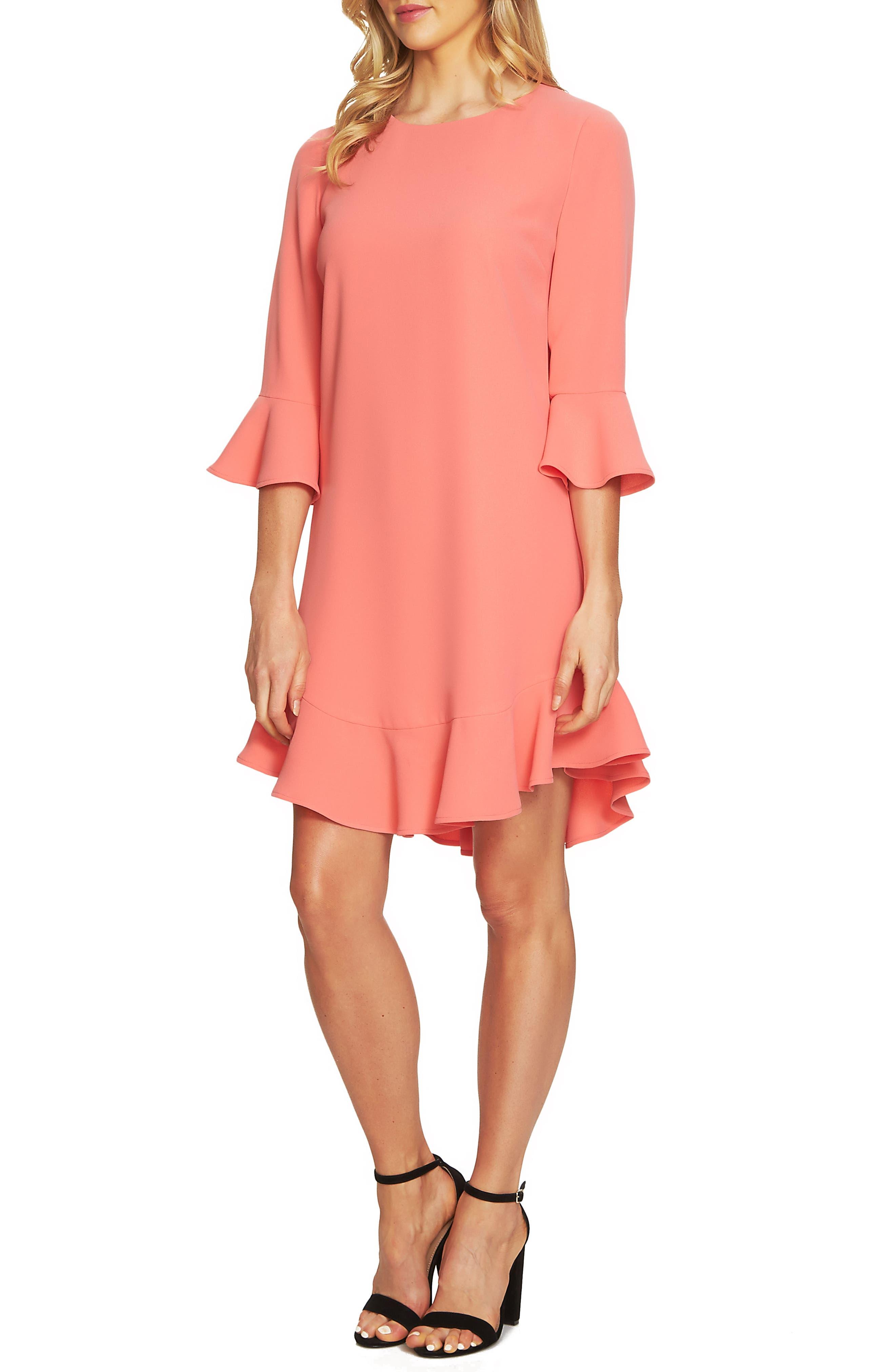 Alternate Image 3  - CeCe Ruffle Hem Trim Dress