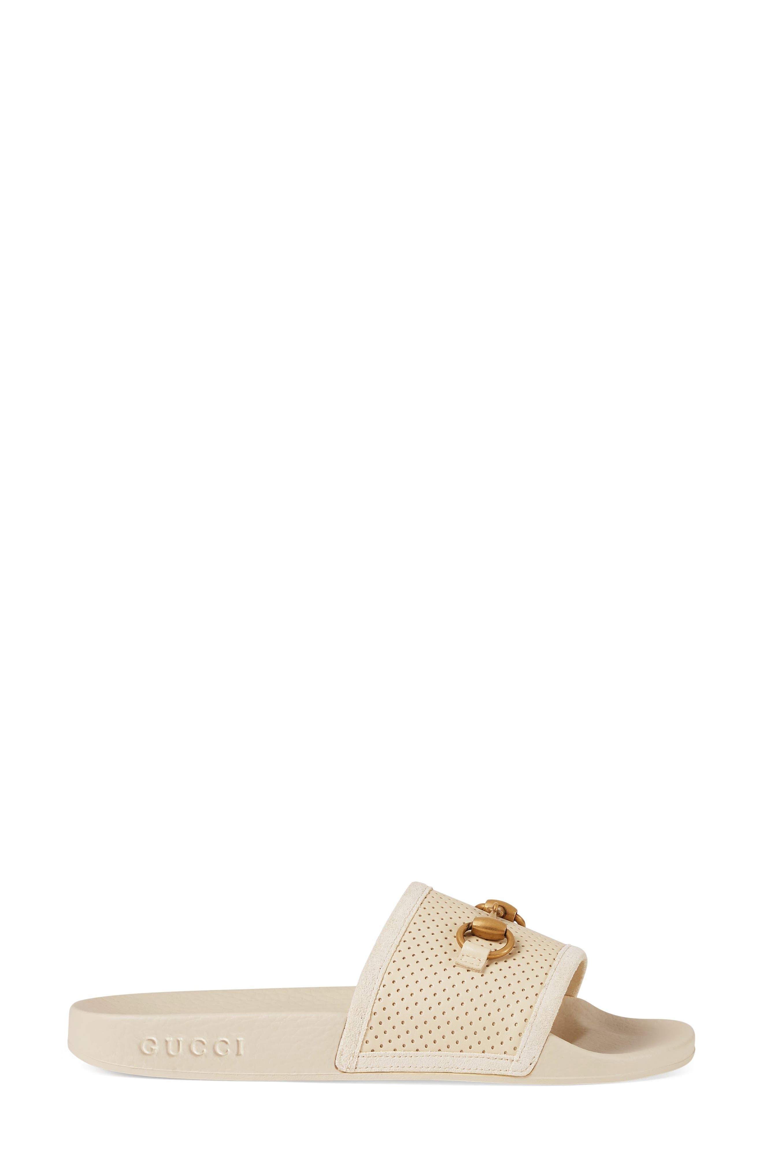 Alternate Image 2  - Gucci Pursuit Horsebit Slide Sandal (Women)