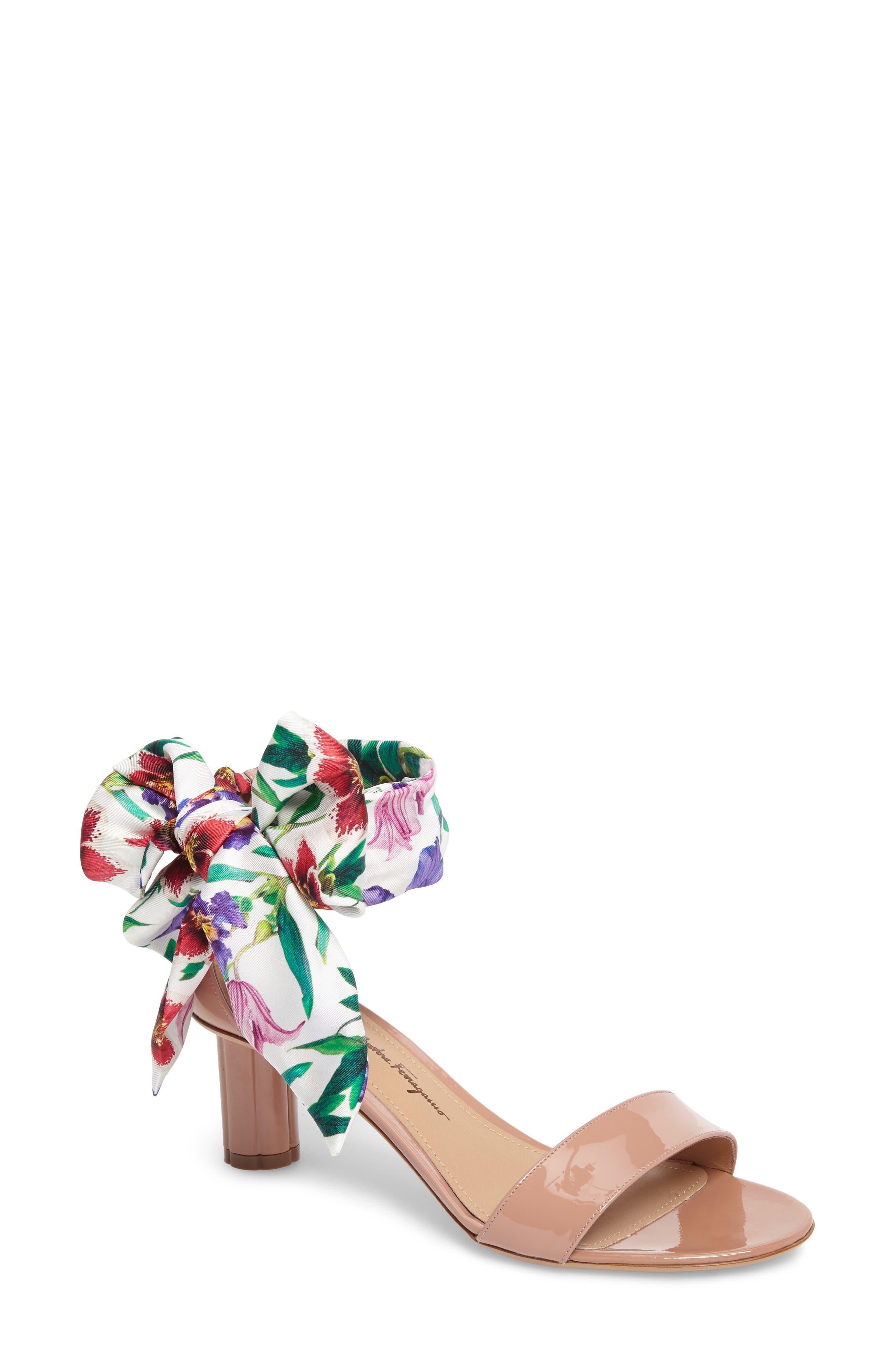 Tursi Sandal,                         Main,                         color, New Blush