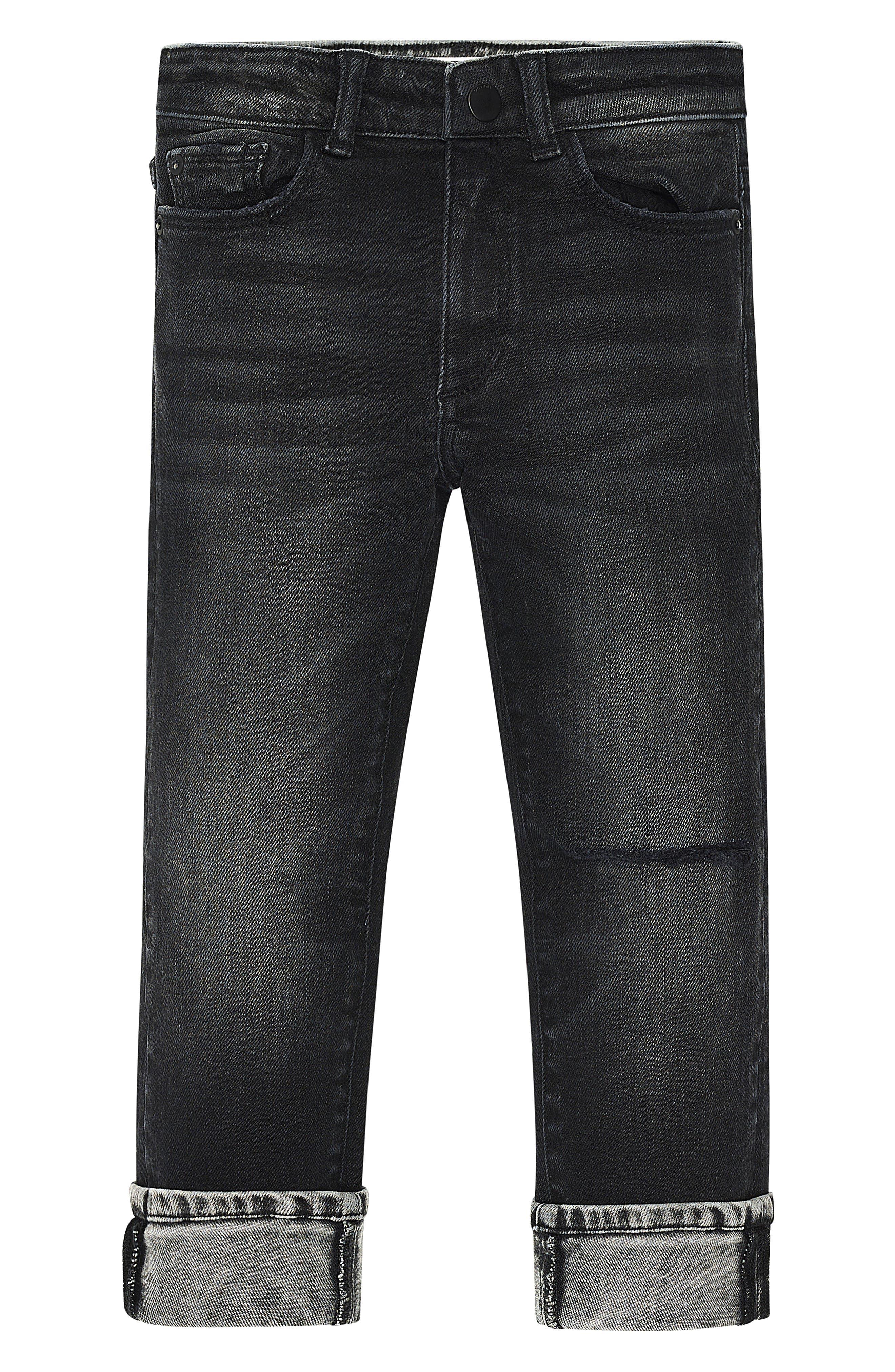 Alternate Image 3  - DL1961 Hawke Skinny Jeans (Toddler Boys & Little Boys)
