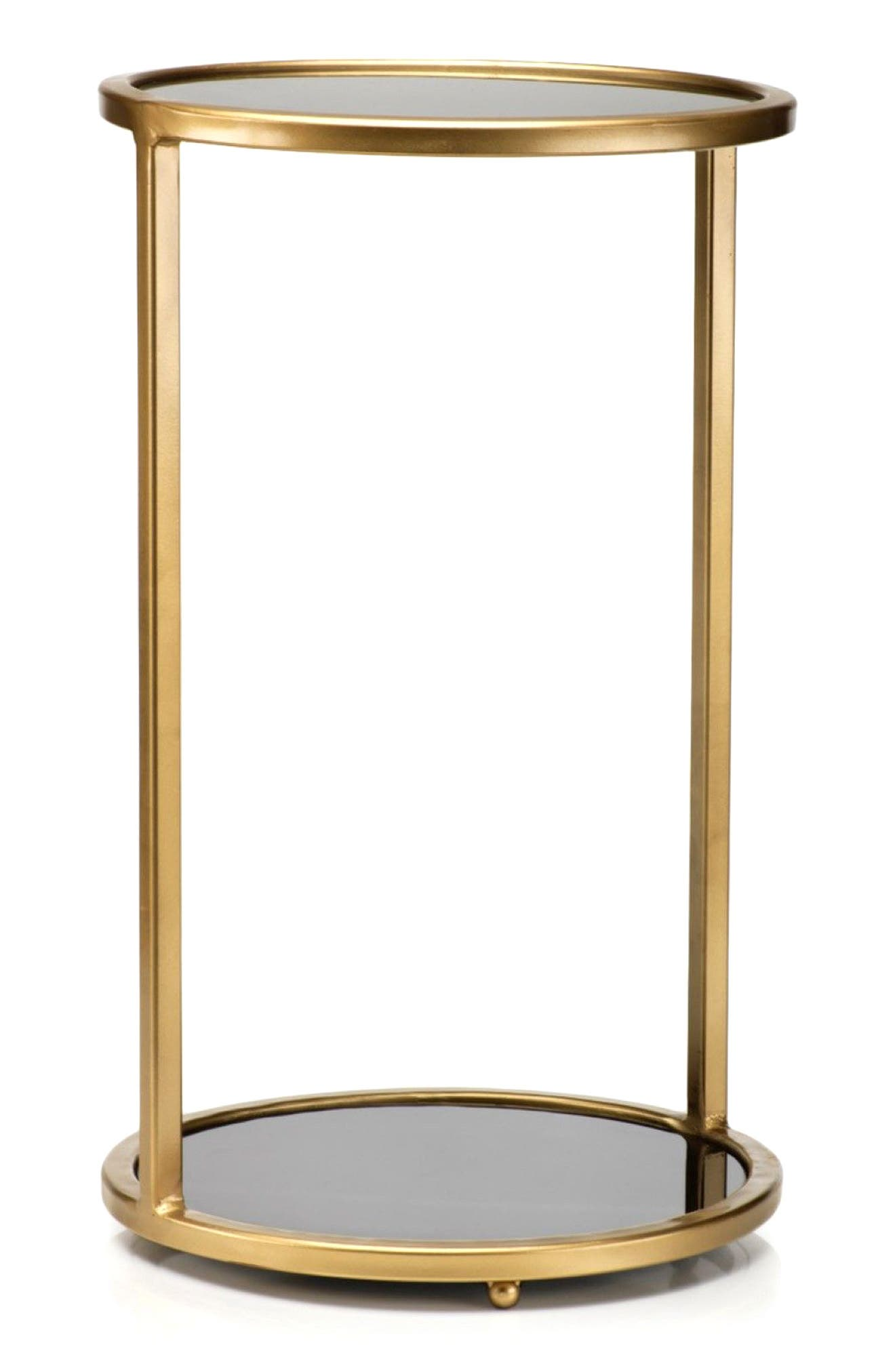 Modena Side Table,                             Main thumbnail 1, color,                             Gold