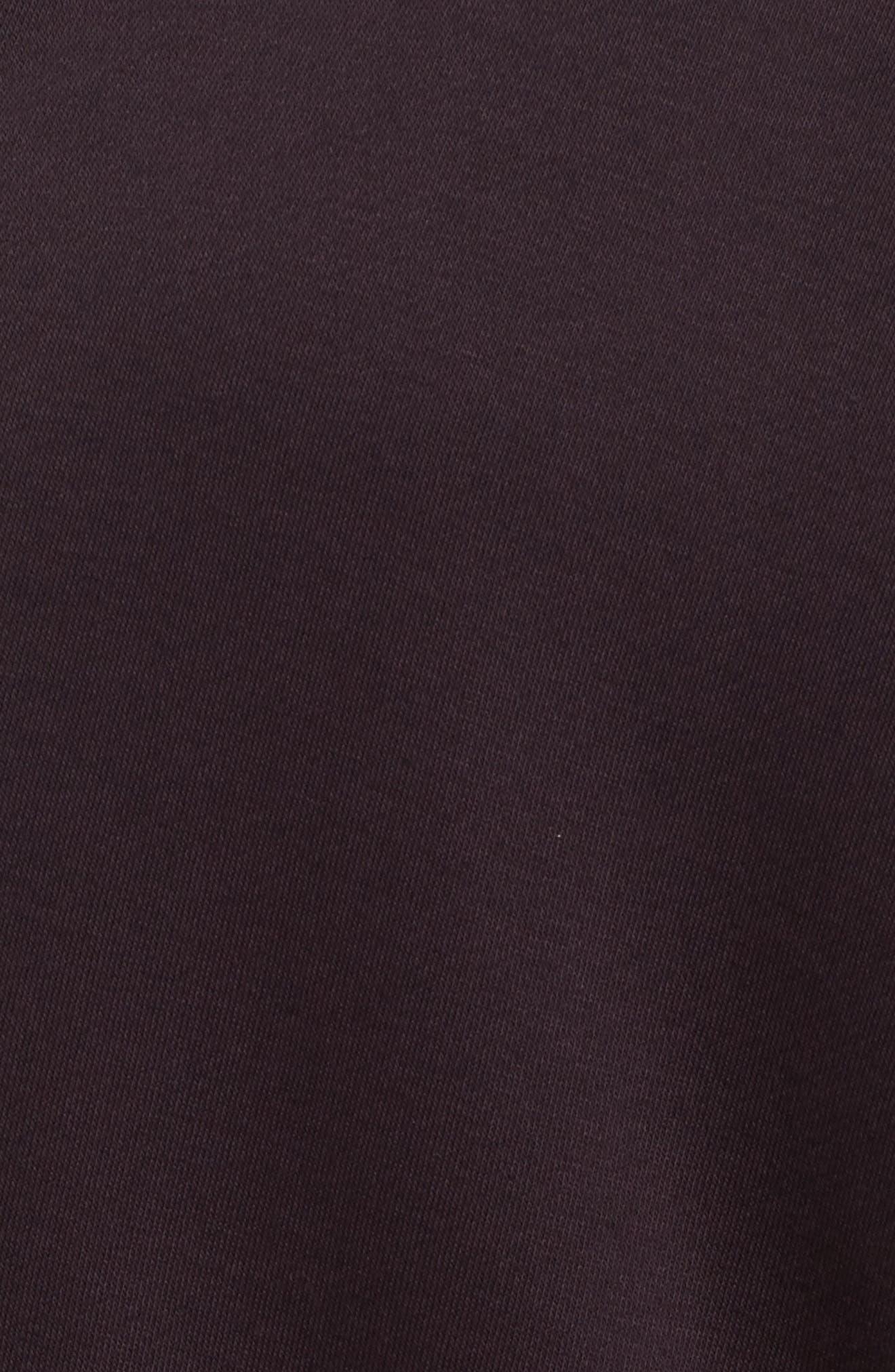 Sportswear Modern Cardigan,                             Alternate thumbnail 4, color,                             Port Wine/ Port Wine