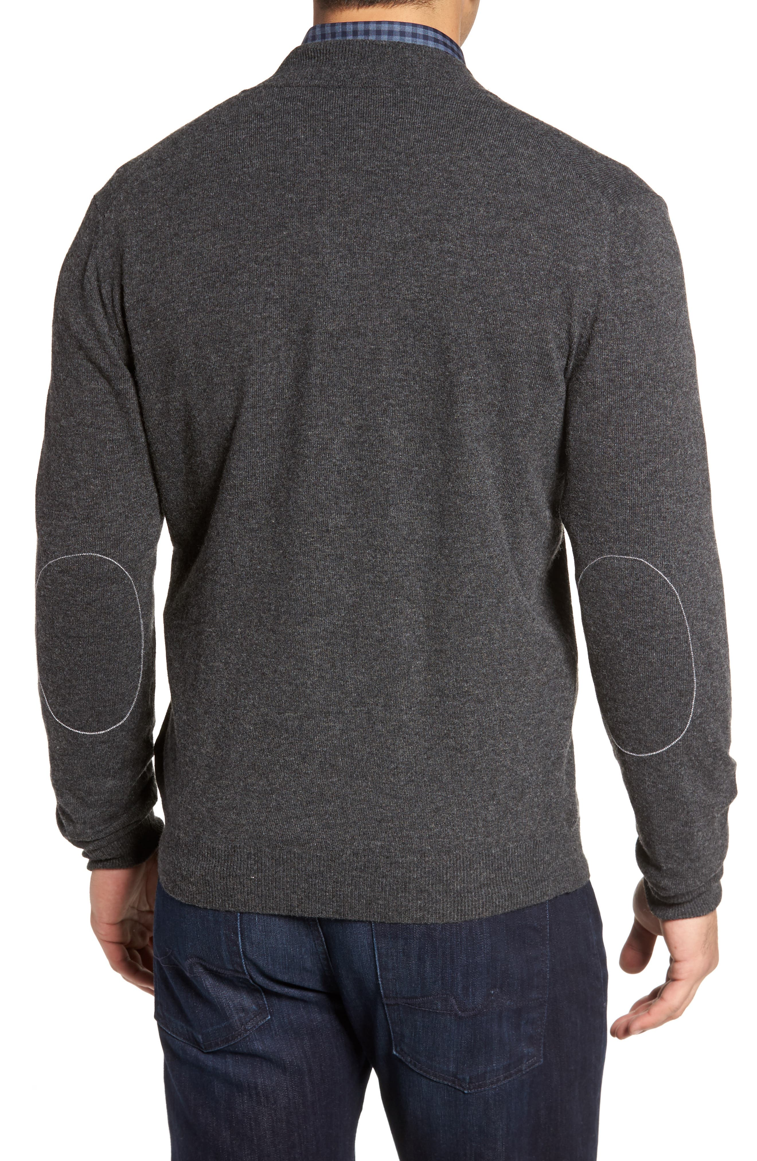 Zip Sweater,                             Alternate thumbnail 2, color,                             Graphite