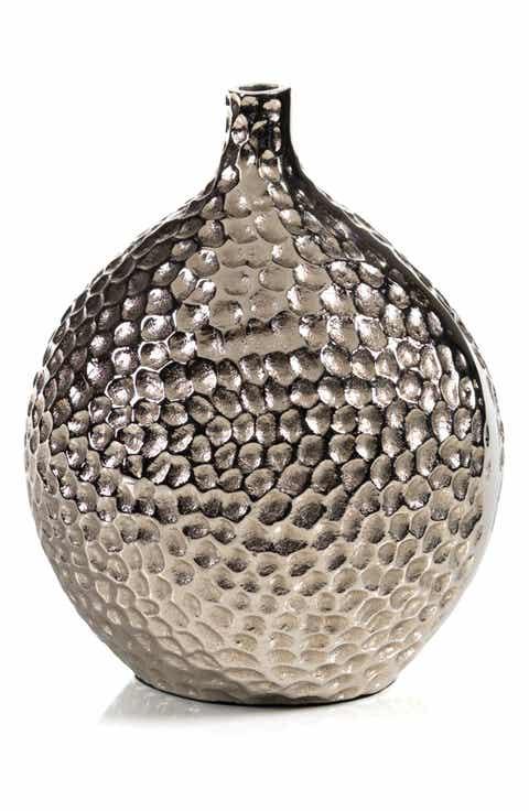 Zodax Crete Hammered Vase Today Deals