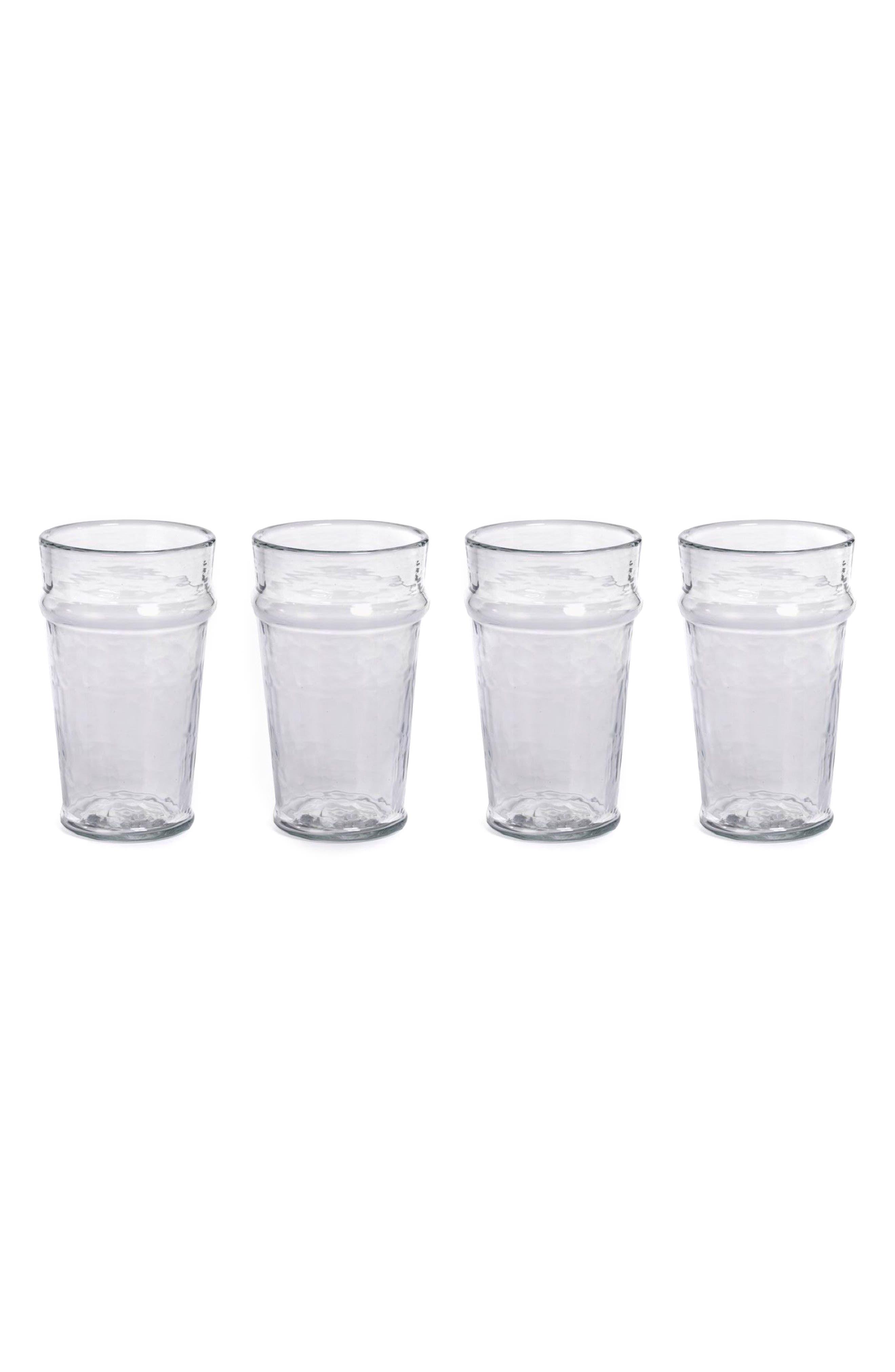 Garan Set of 4 Highball Glasses,                             Main thumbnail 1, color,                             Clear