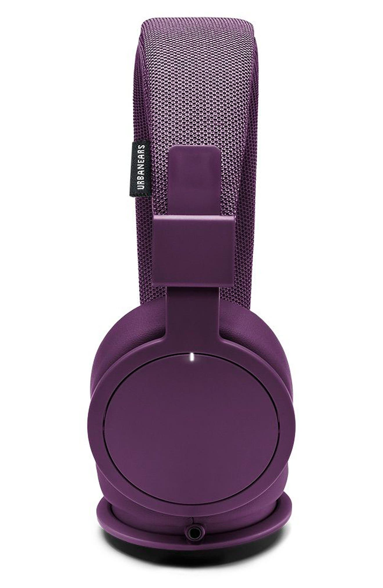 'Plattan ADV Wireless' Bluetooth<sup>®</sup> On-Ear Headphones,                             Alternate thumbnail 5, color,                             Cosmos Purple