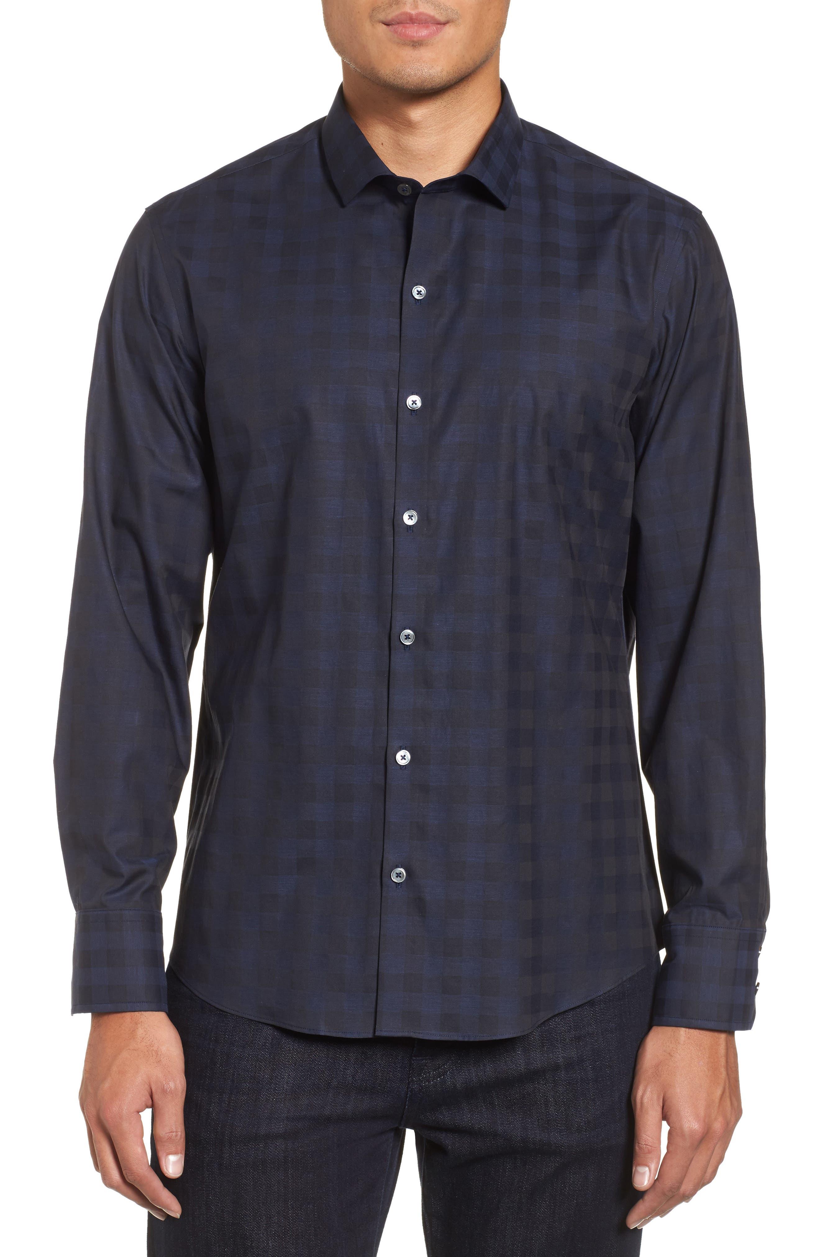 Main Image - Zachary Prell Torres Check Sport Shirt