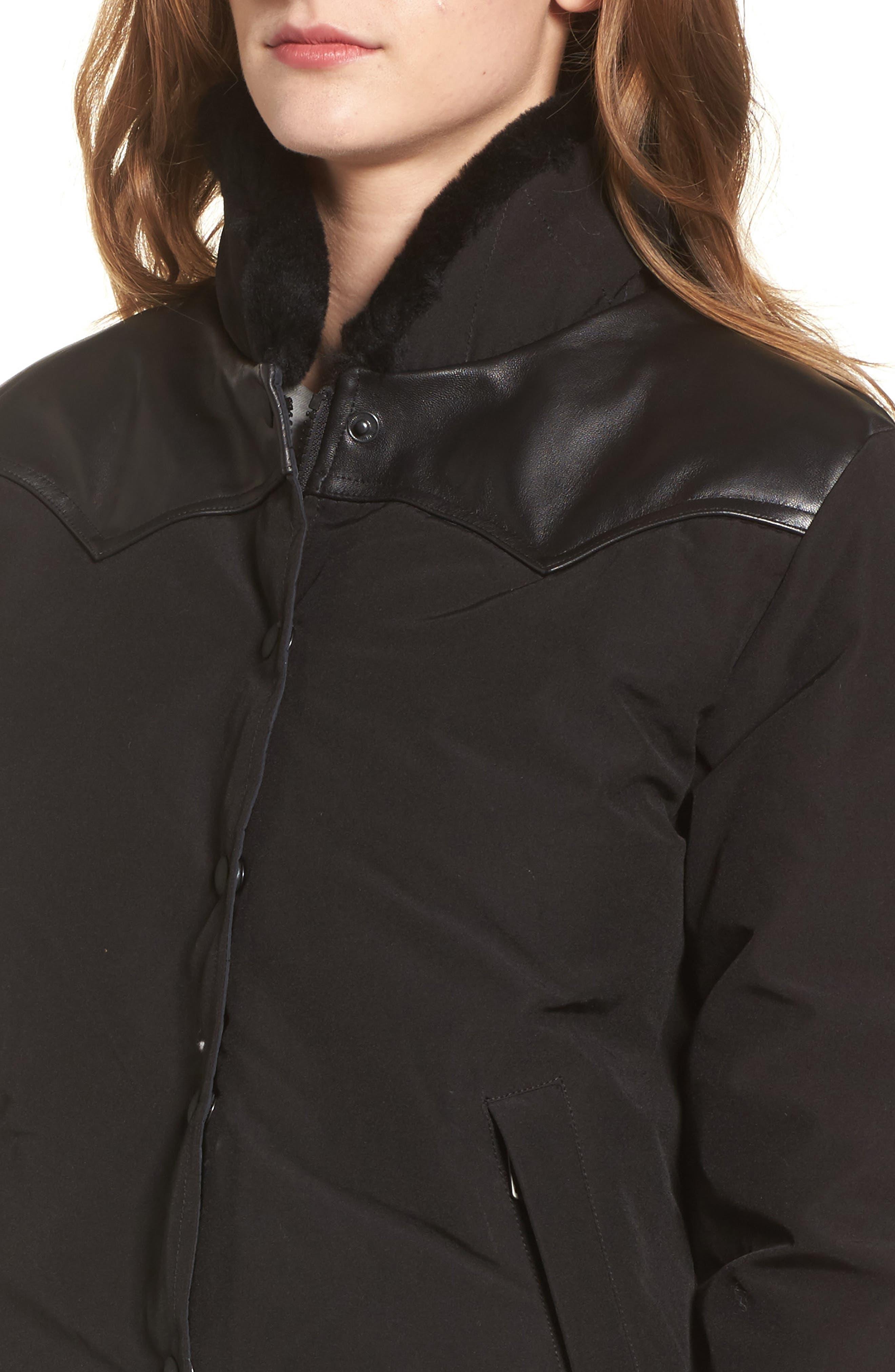 Alternate Image 4  - Penfield Rockwool Down Jacket with Genuine Coyote Fur Trim
