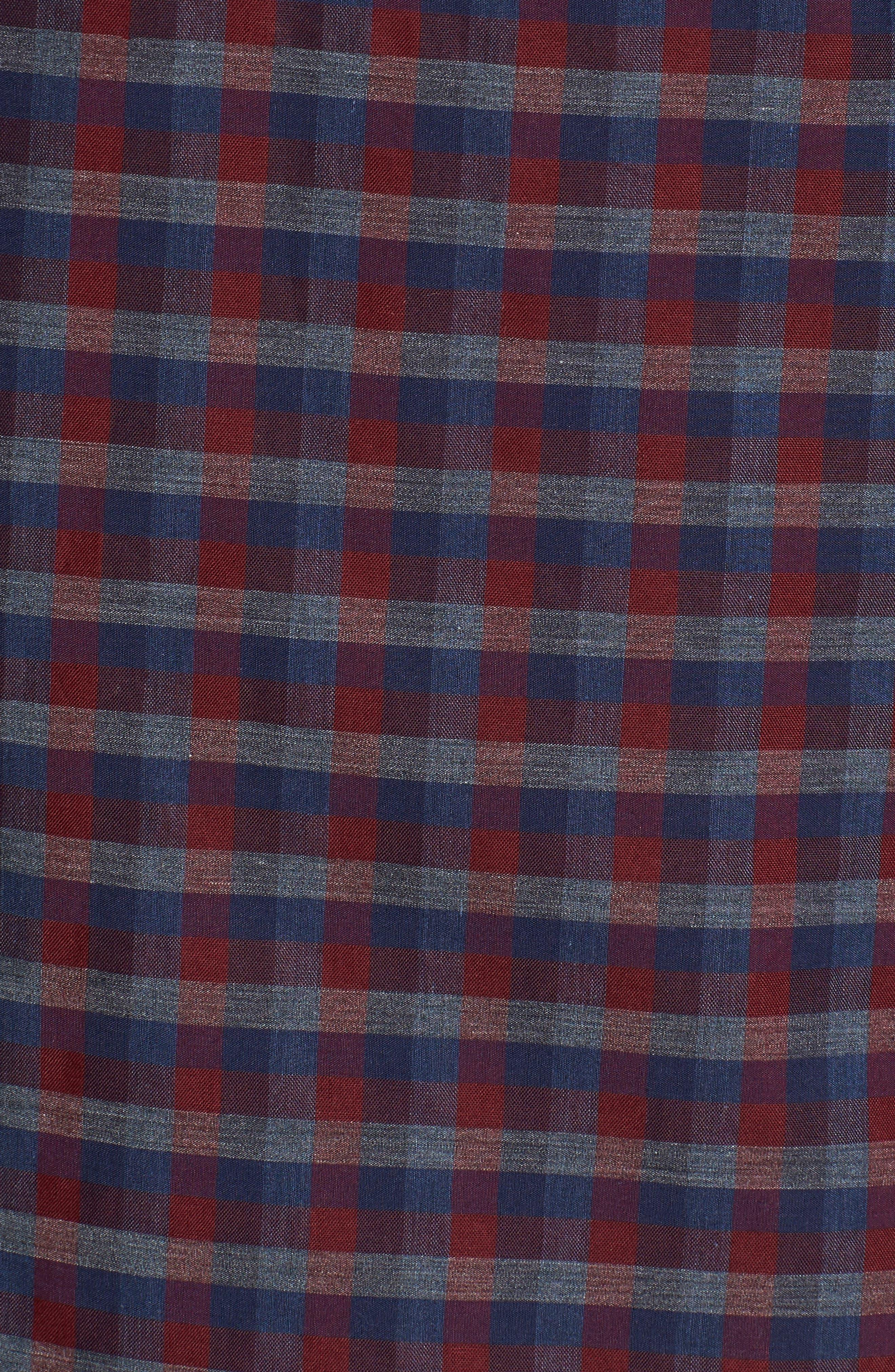 Alternate Image 5  - Zachary Prell Dane Check Sport Shirt