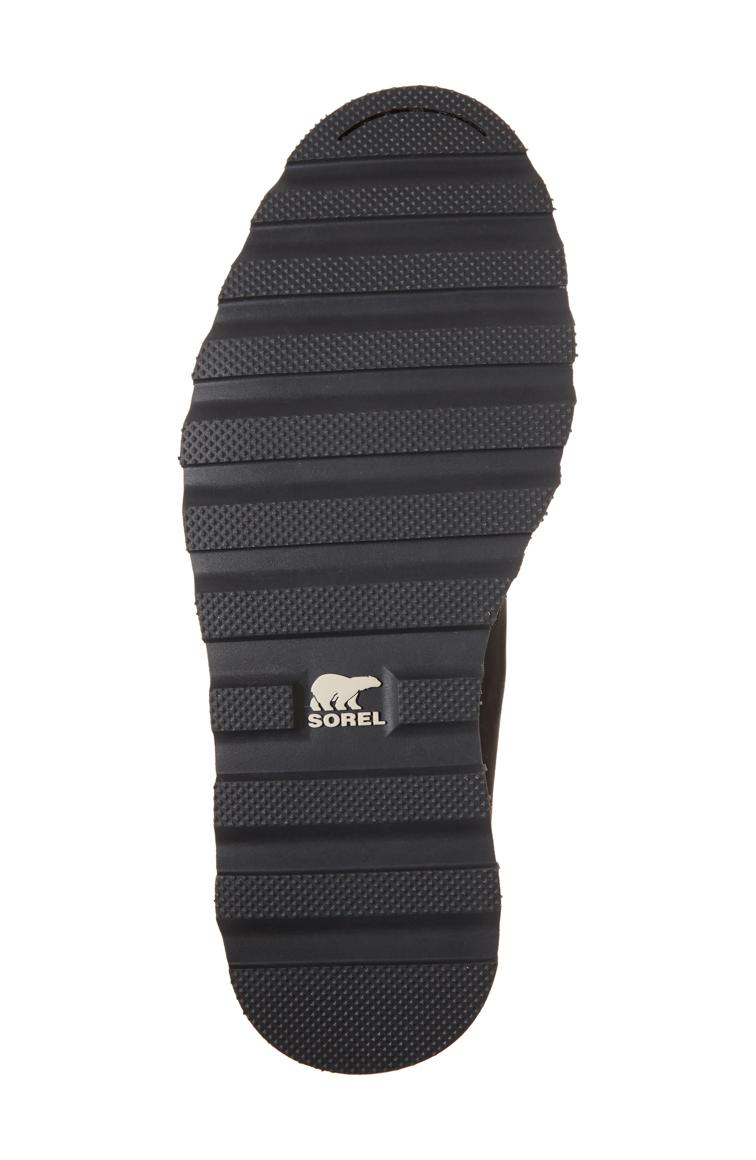 Madson Waterproof Chelsea Boot,                             Alternate thumbnail 6, color,                             Black