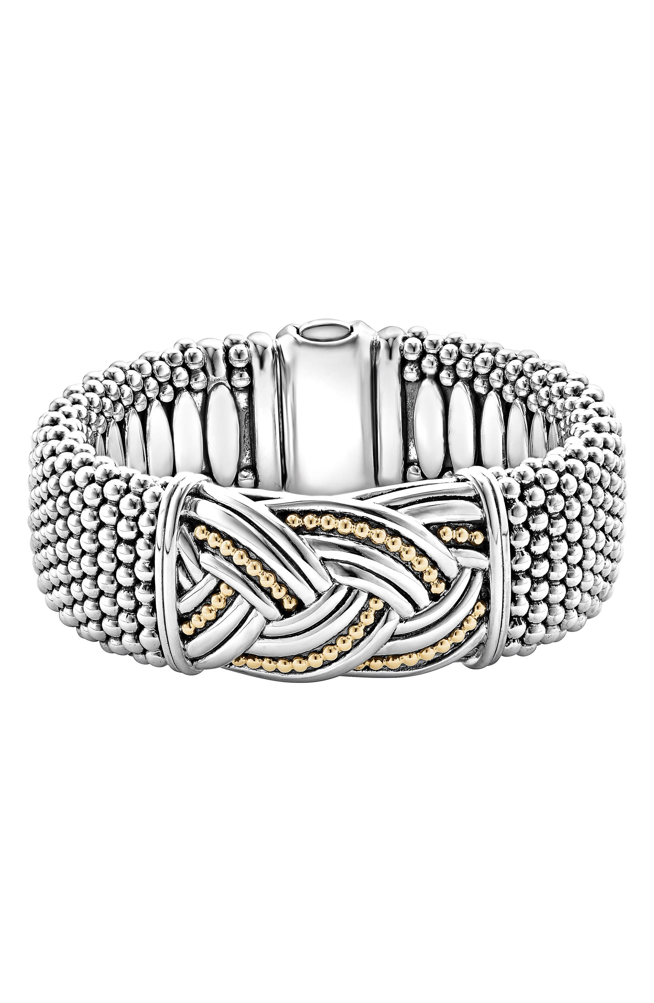 LAGOS Torsade Wide Rope Bracelet