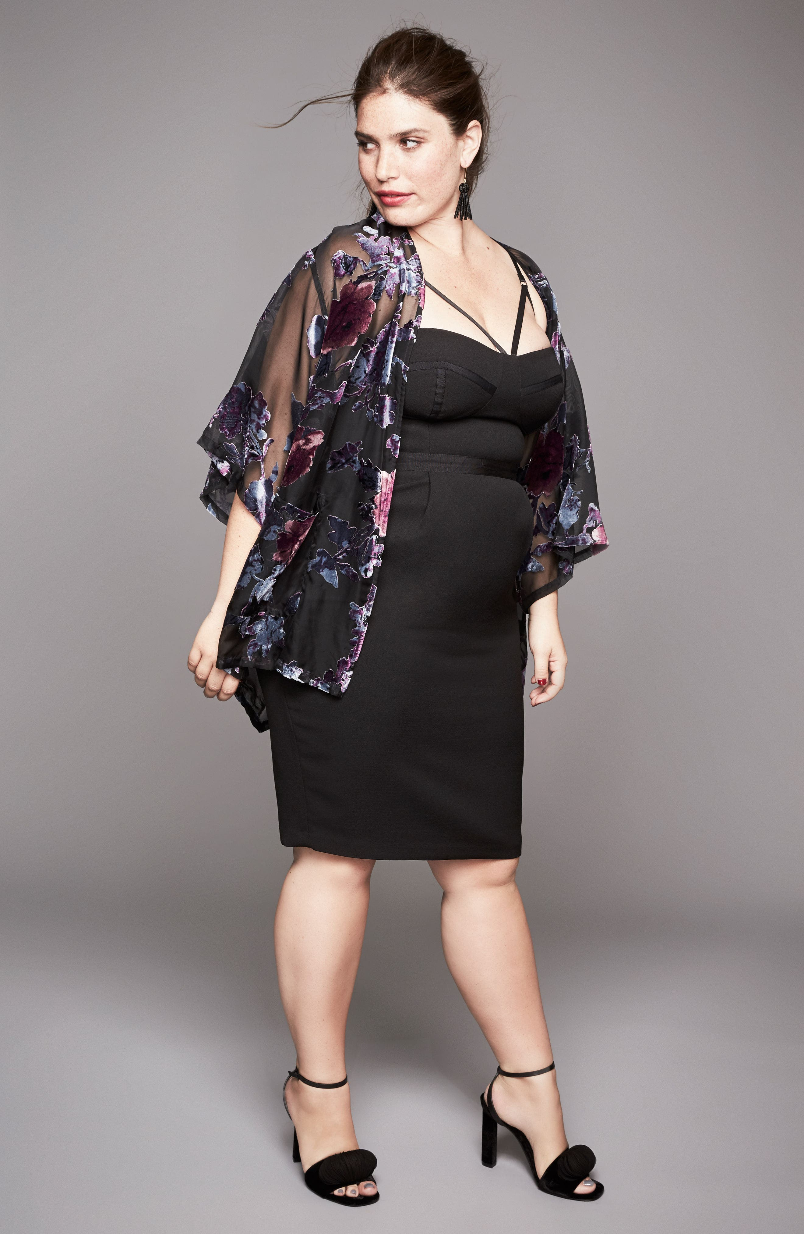 Alternate Image 7  - City Chic 'Undress Me' Dress (Plus Size)
