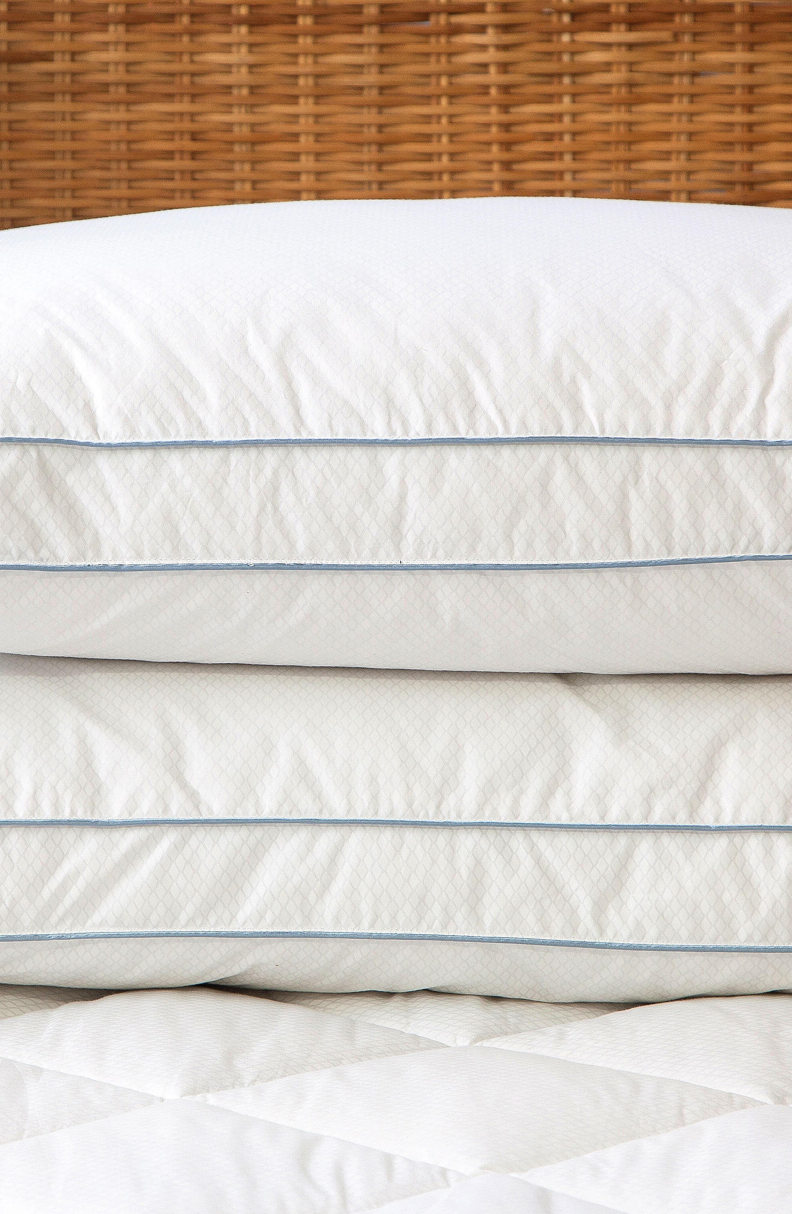 Gusseted Pillow,                             Alternate thumbnail 3, color,                             White