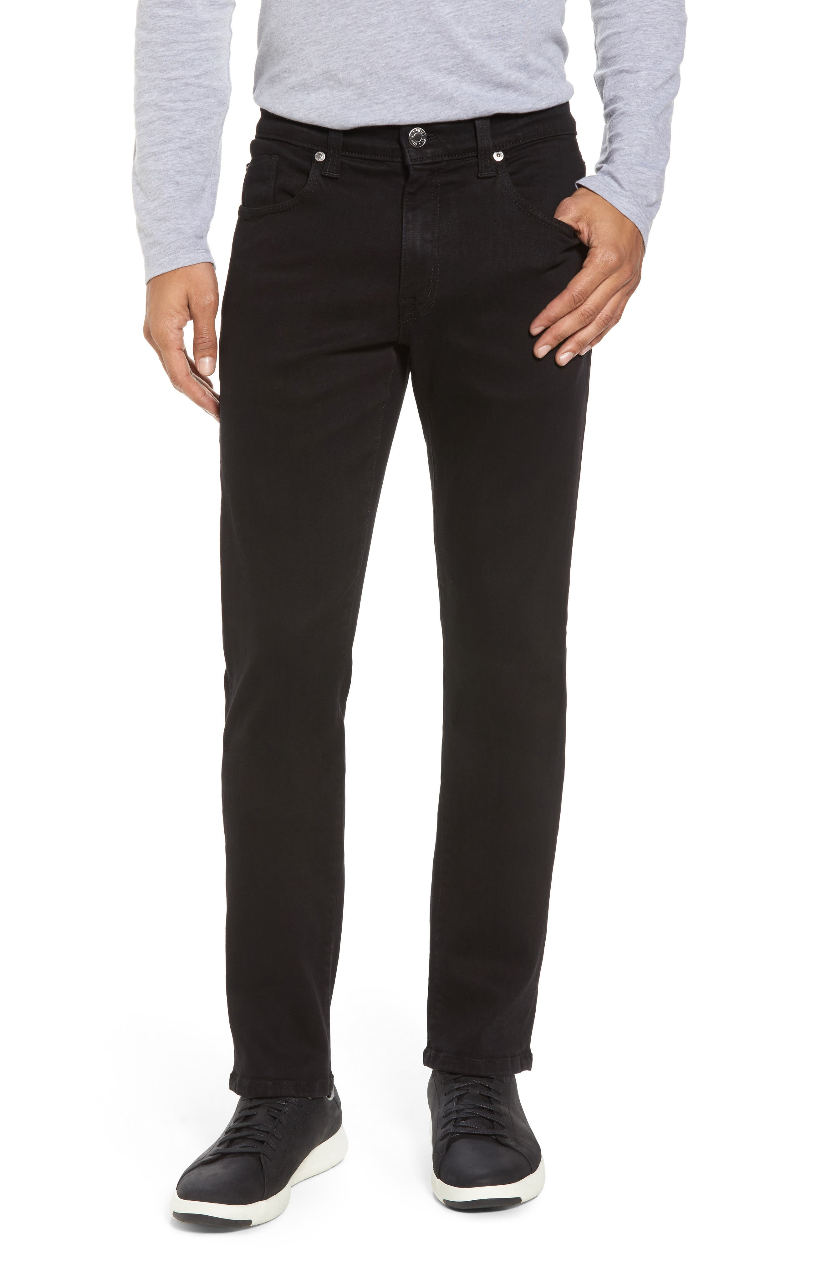 Torino Slim Fit Jeans,                         Main,                         color, Everblack
