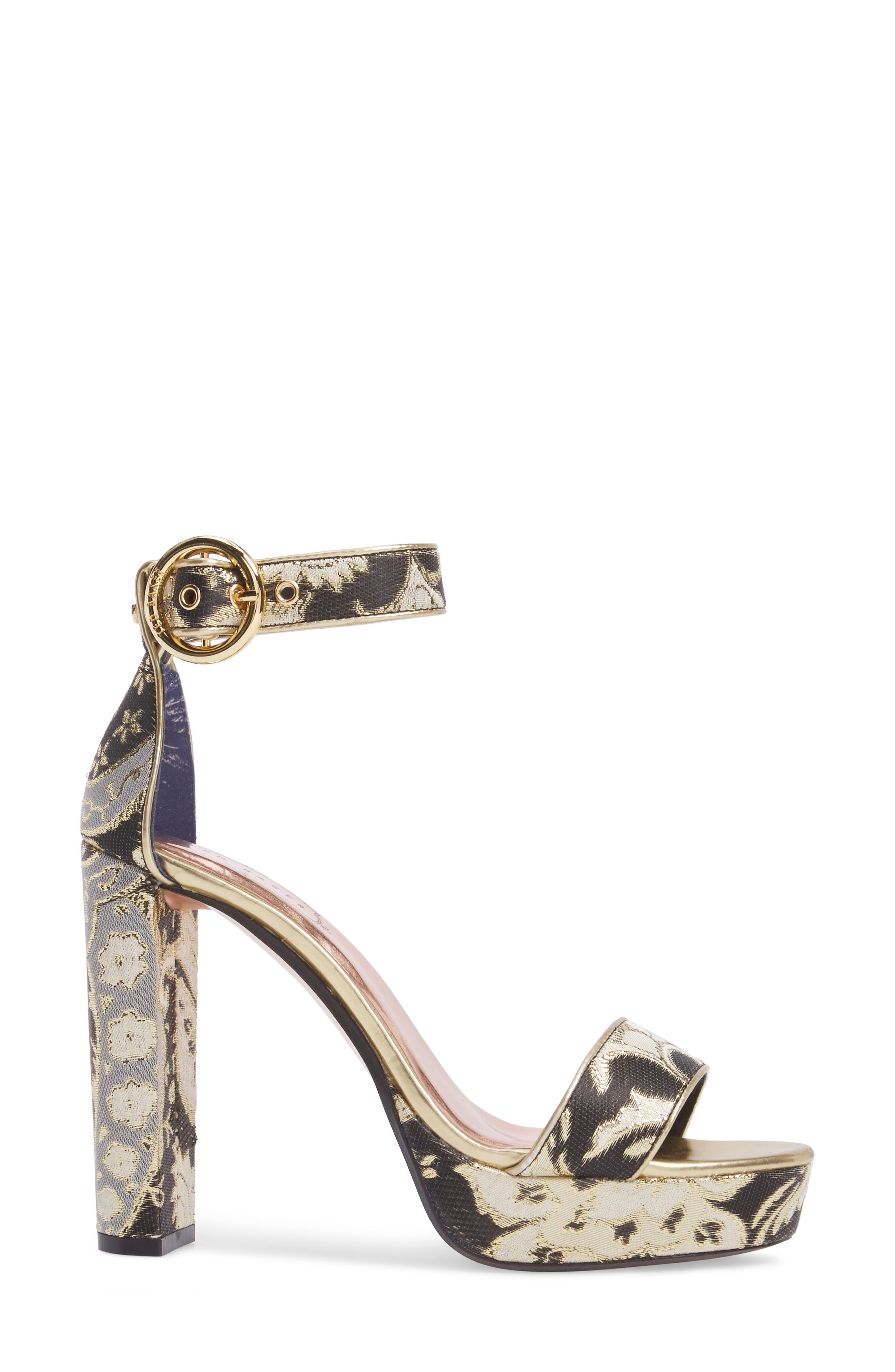 Alternate Image 3  - Ted Baker London Jewll Ankle Strap Sandal (Women)