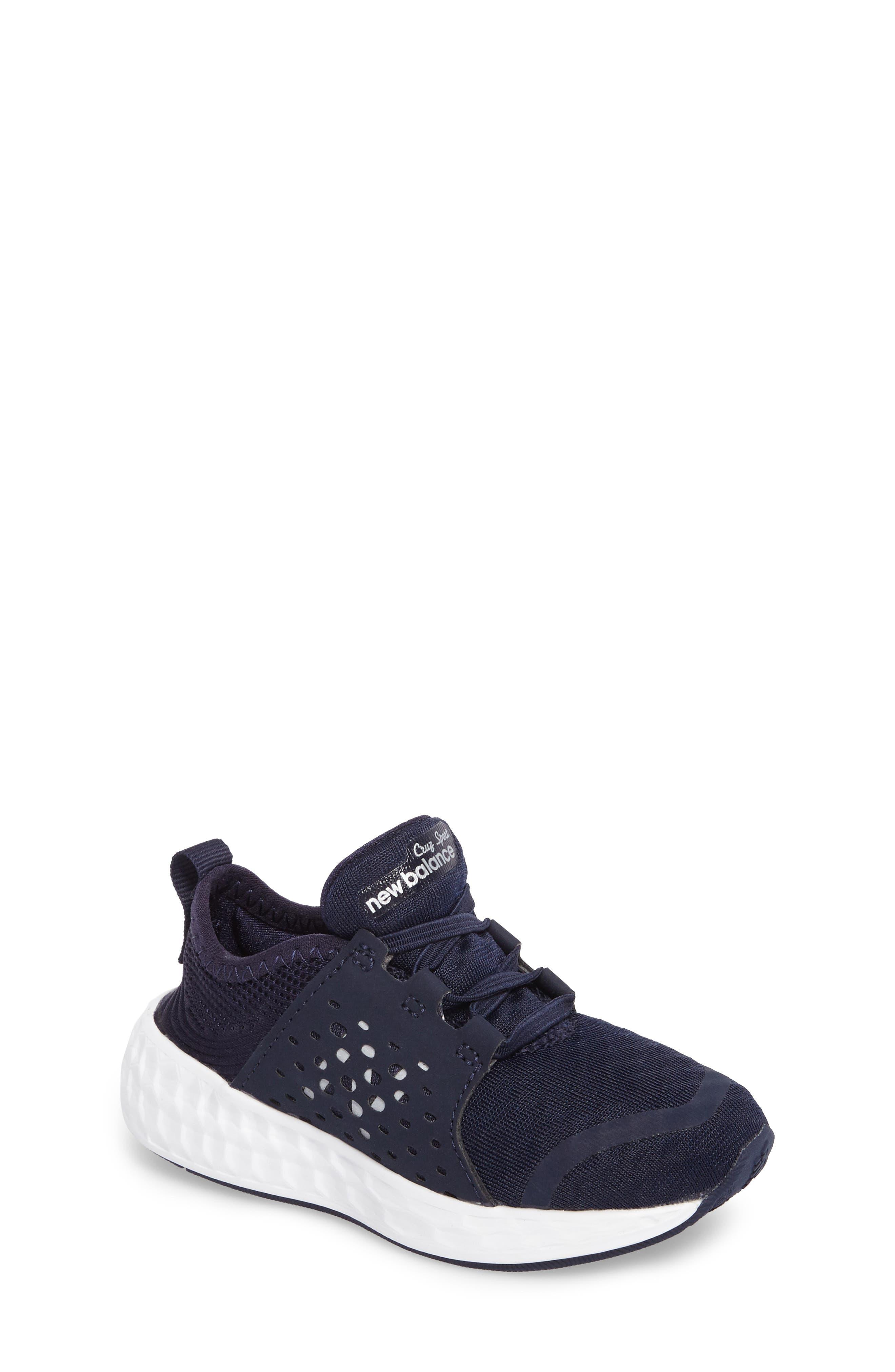 Cruz Sport Sneaker,                         Main,                         color, Navy/ White