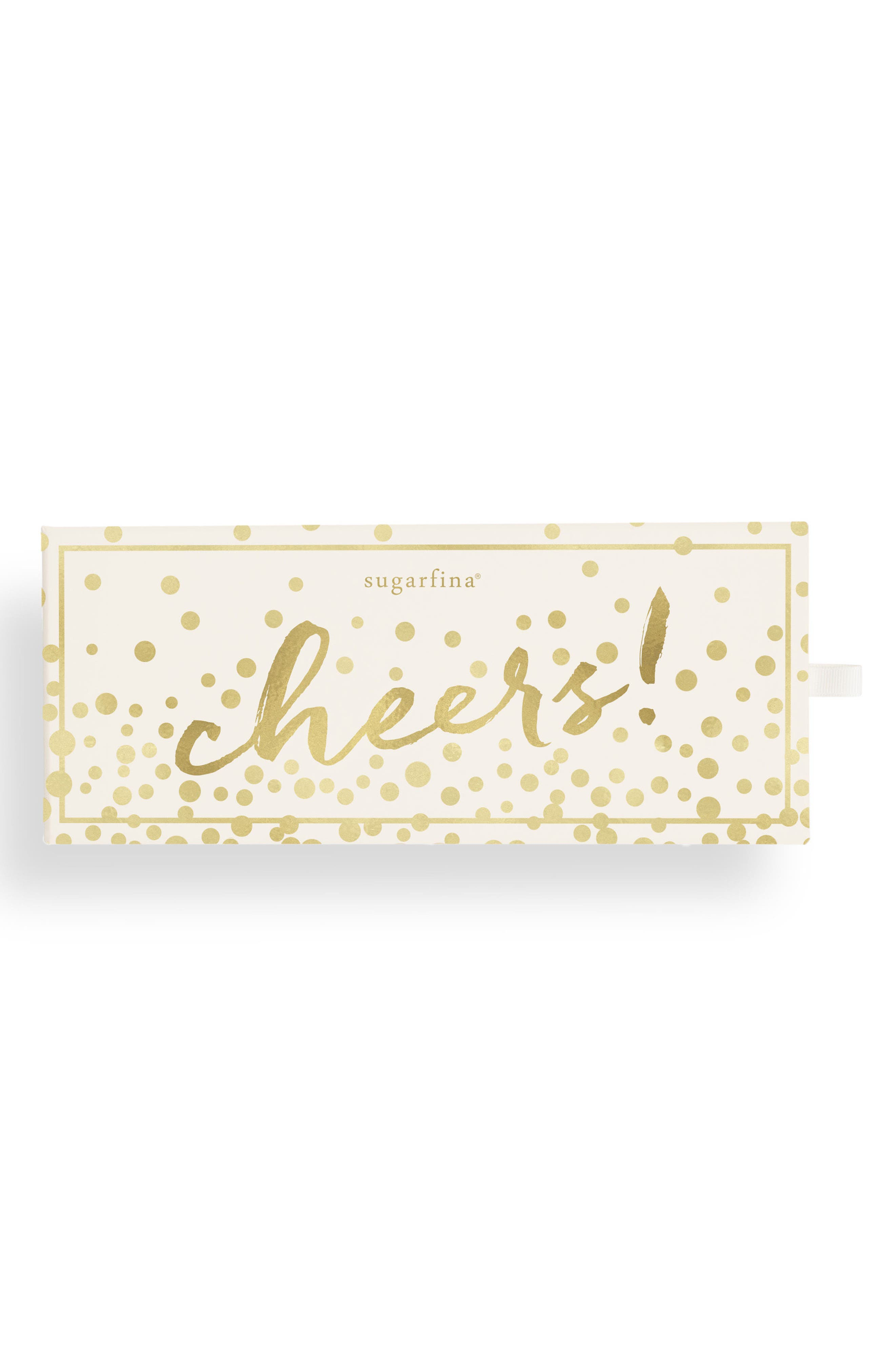 Cheers 3-Piece Candy Bento Box,                             Main thumbnail 1, color,                             White