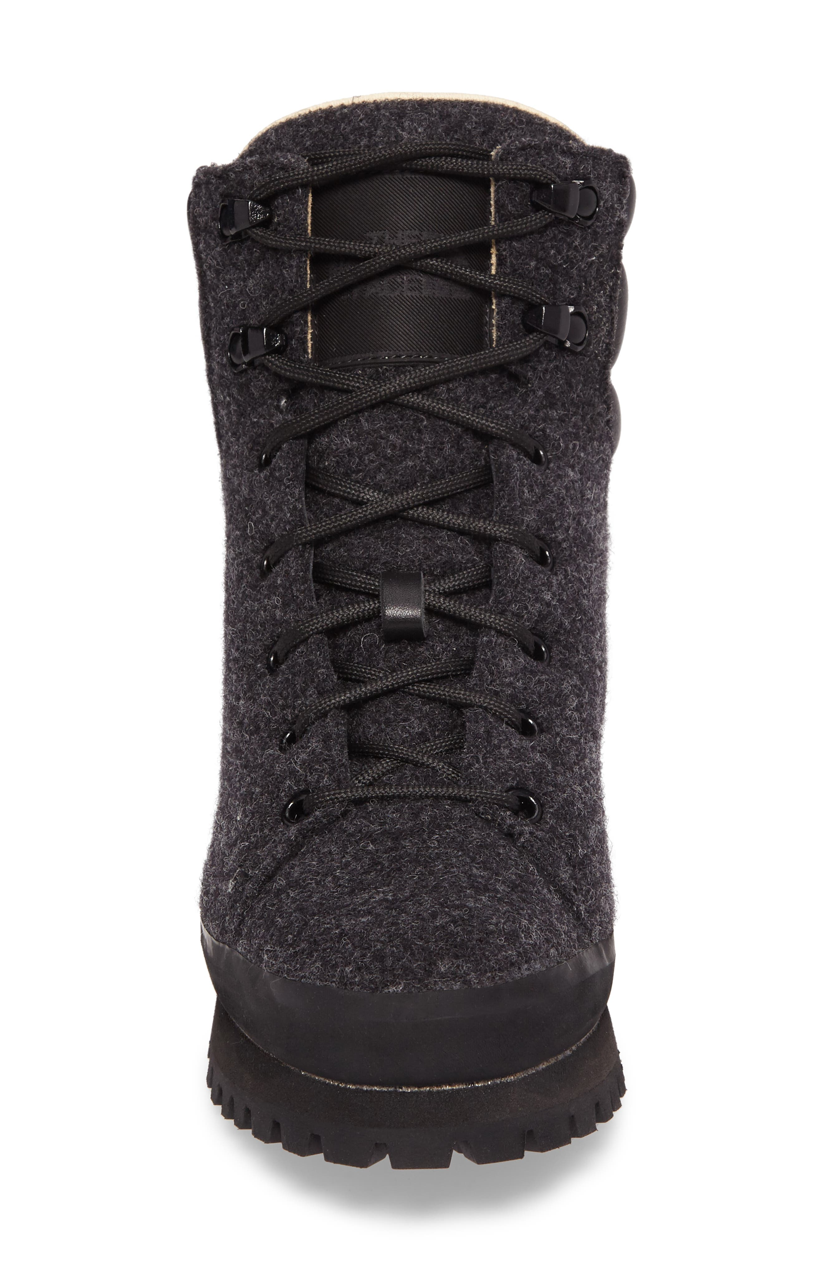 Cryos Hiker Boot,                             Alternate thumbnail 4, color,                             Tnf Black/ Tnf Black