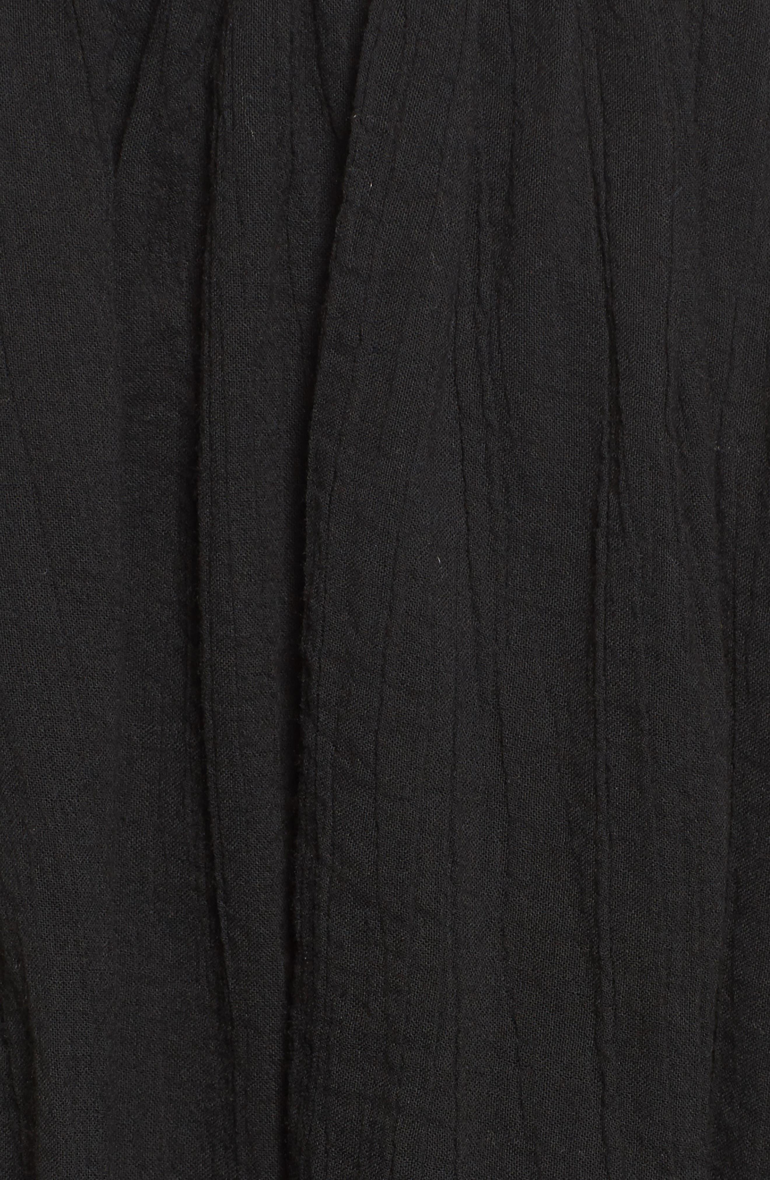 Alternate Image 5  - James Perse Smocked Cotton Skirt