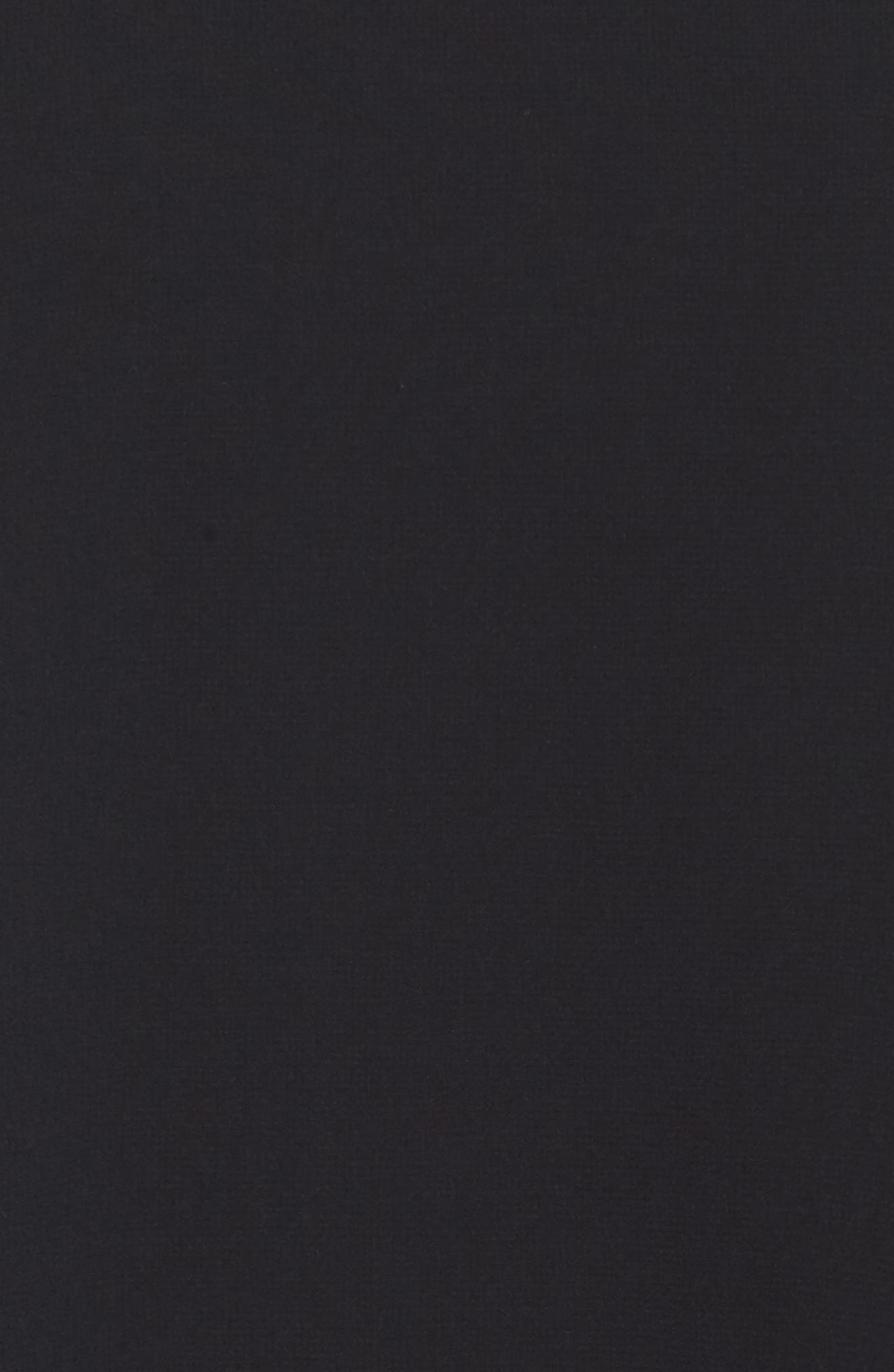 Sequin Chiffon Dress,                             Alternate thumbnail 5, color,                             Black Onyx