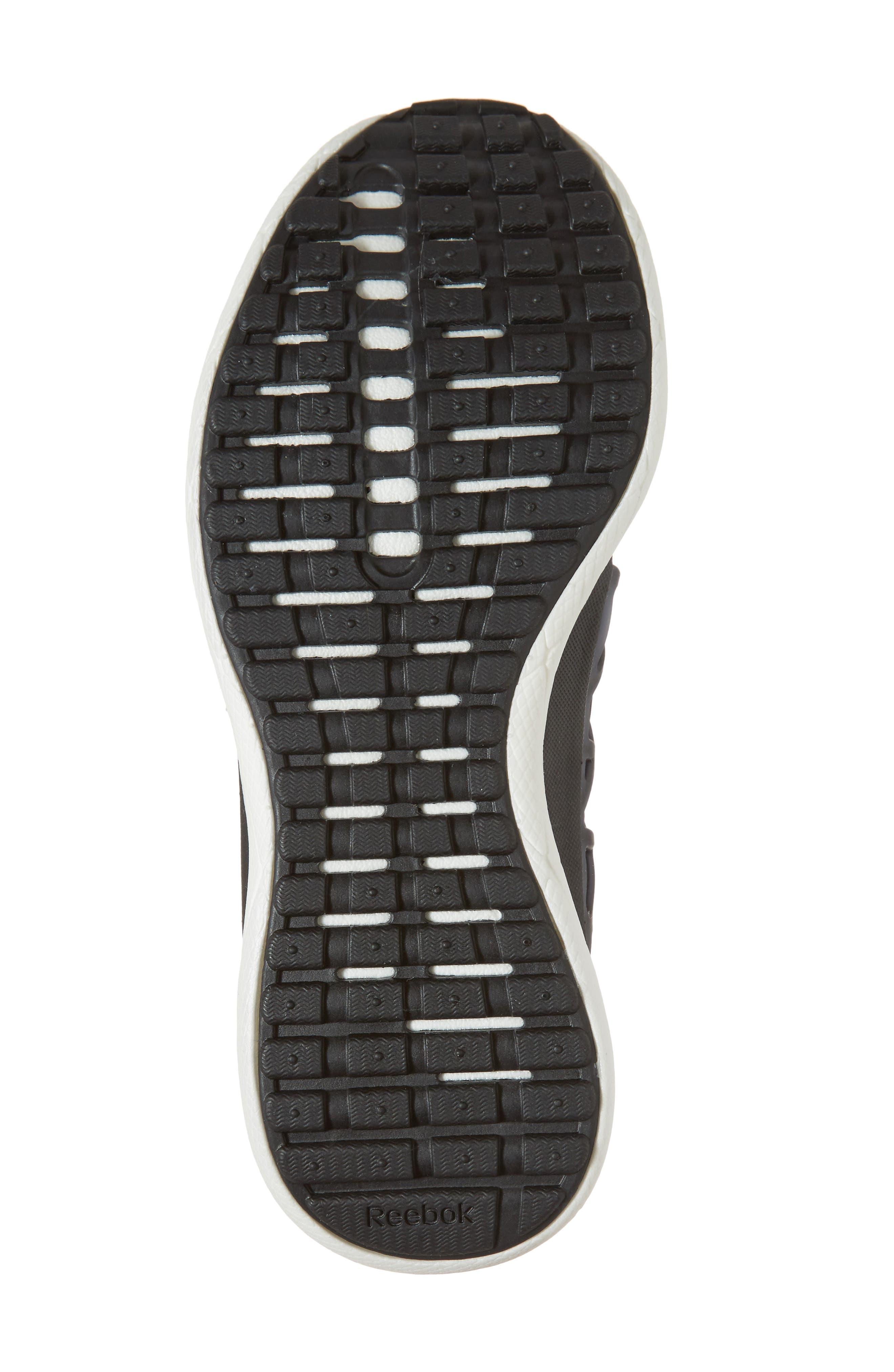 Floatride Run Running Shoe,                             Alternate thumbnail 6, color,                             Black/ Gravel/ White