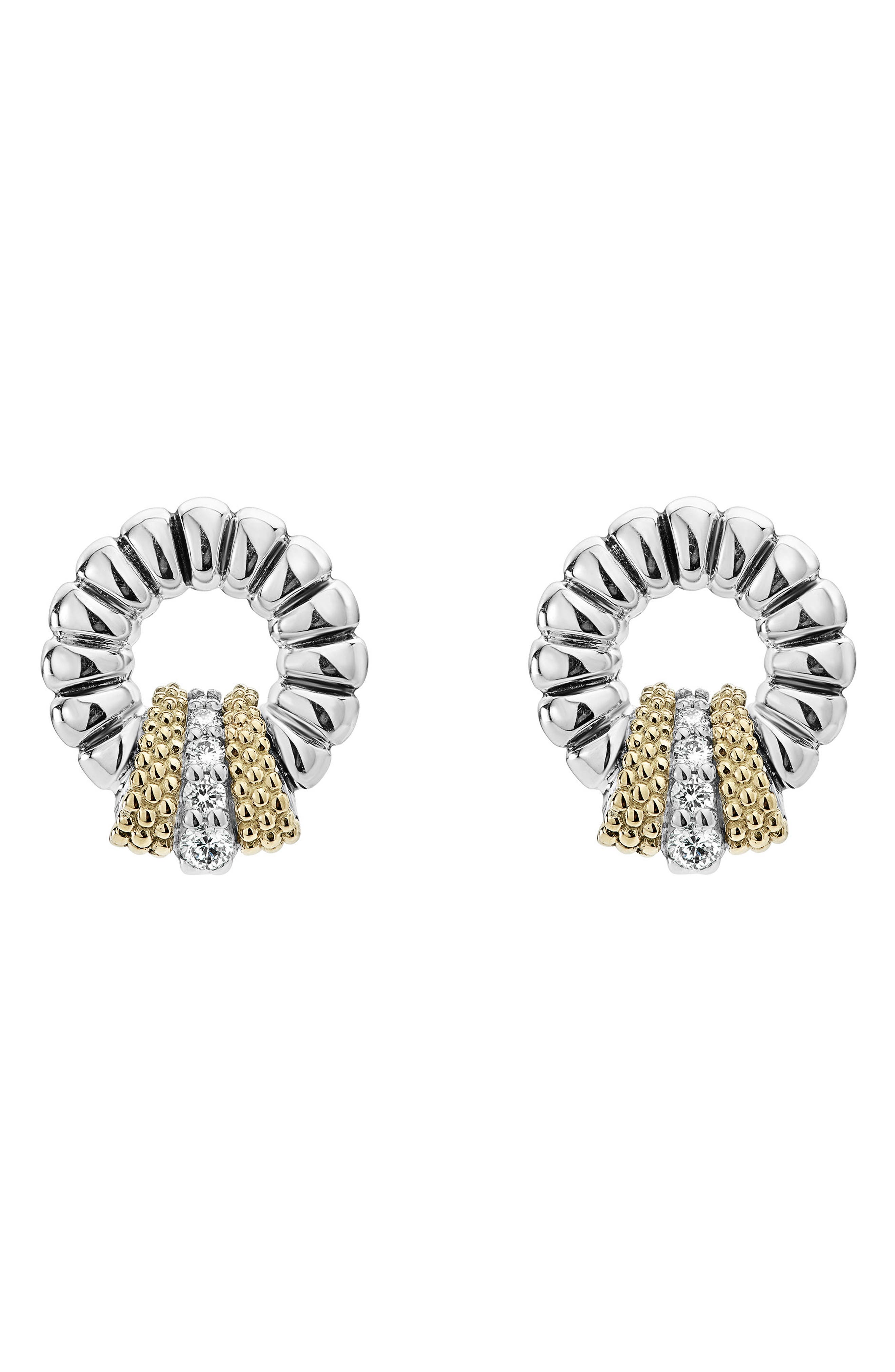 Main Image - LAGOS Lux Diamond Stud Earrings