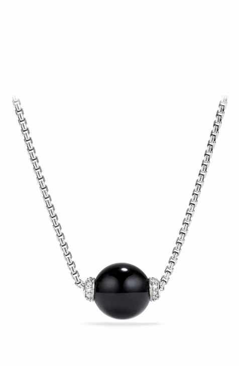 Womens diamond necklaces nordstrom david yurman solari pendant necklace with diamonds aloadofball Images