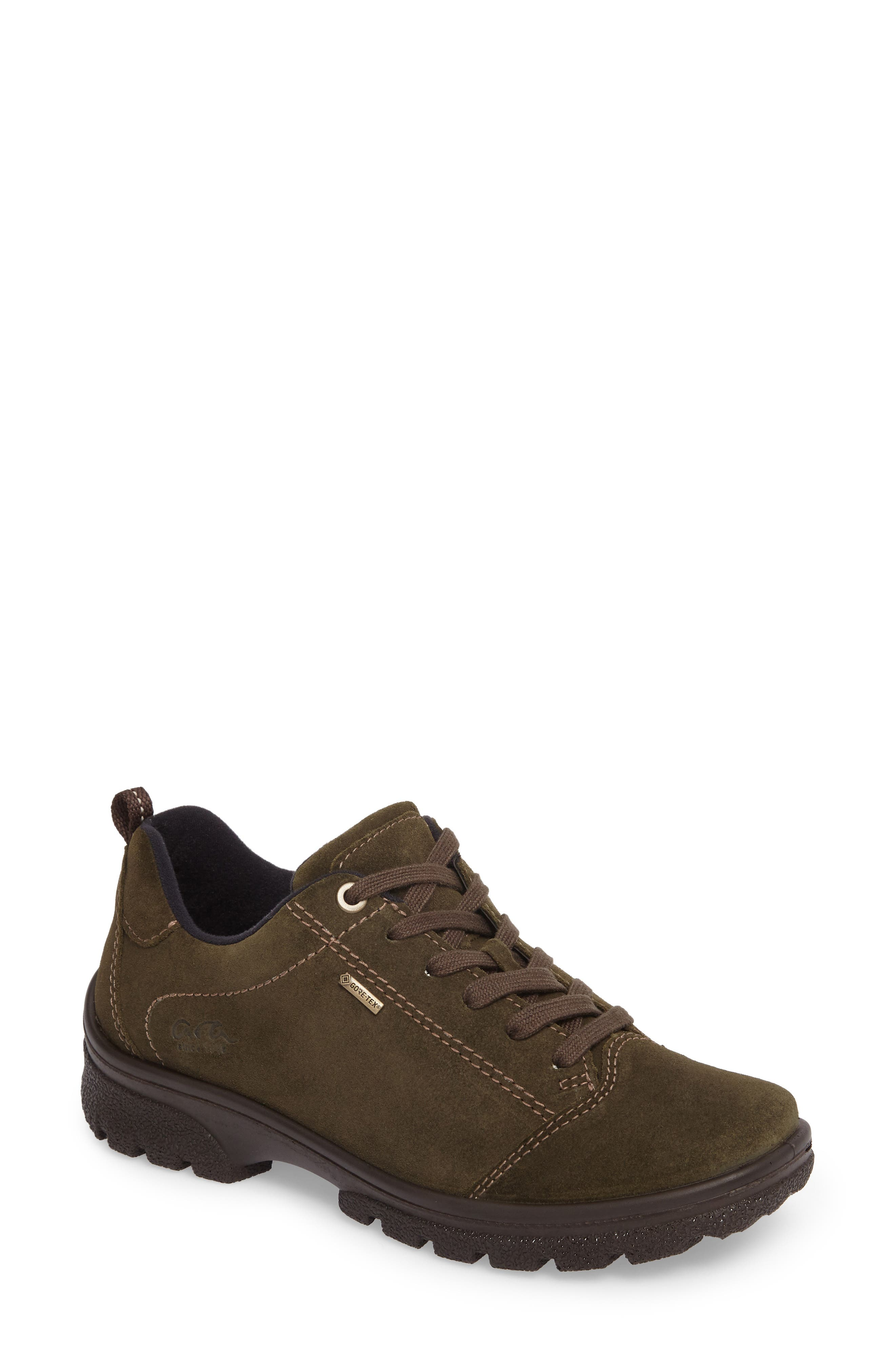 Sophie Gore-Tex<sup>®</sup> Sneaker,                             Main thumbnail 1, color,                             Pine Suede