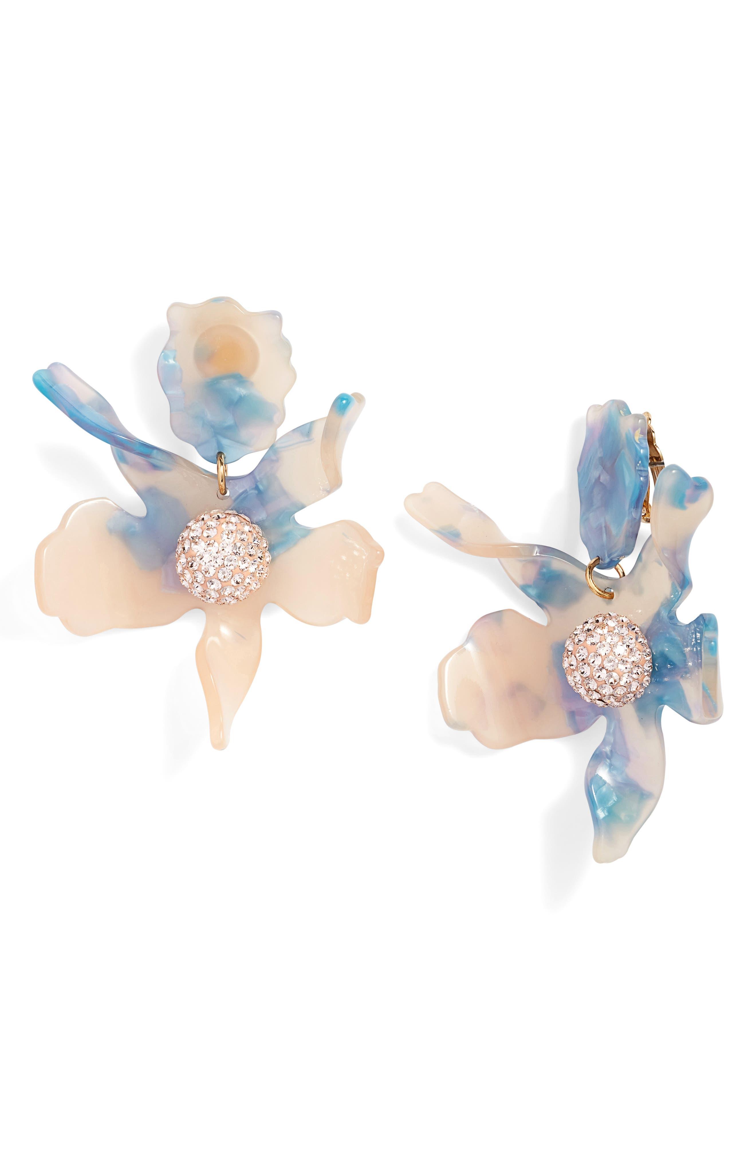 Lele Sadoughi Crystal Drop Earrings