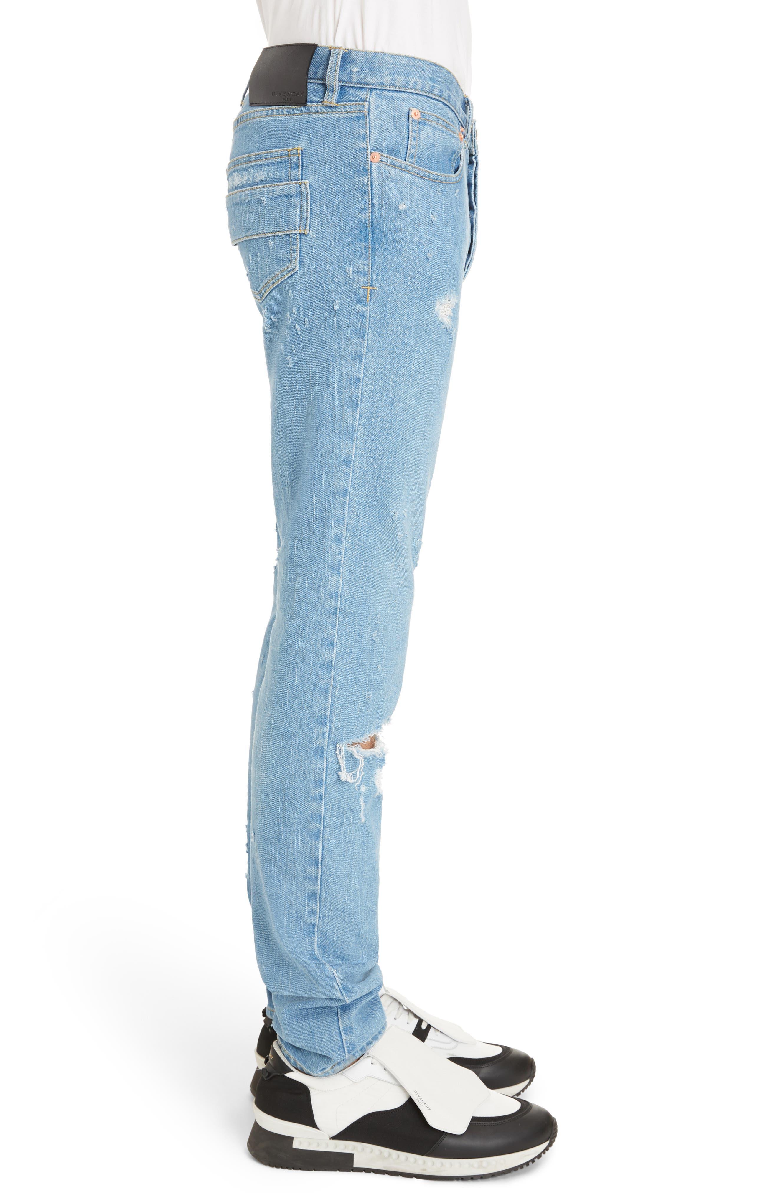 Rico Fit Jeans,                             Alternate thumbnail 3, color,                             Medium Blue