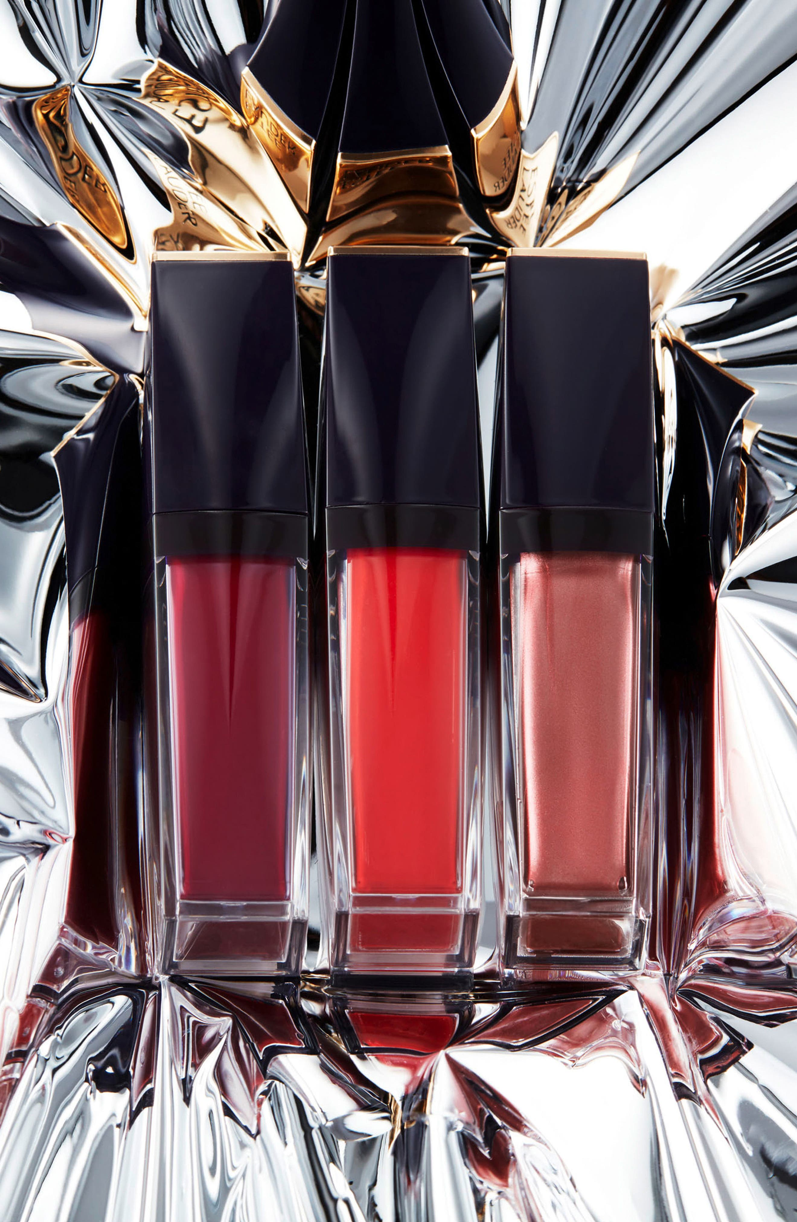 Alternate Image 7  - Estée Lauder Violette Pure Color Envy Paint-On Liquid Lip Color Trio ($84 value)