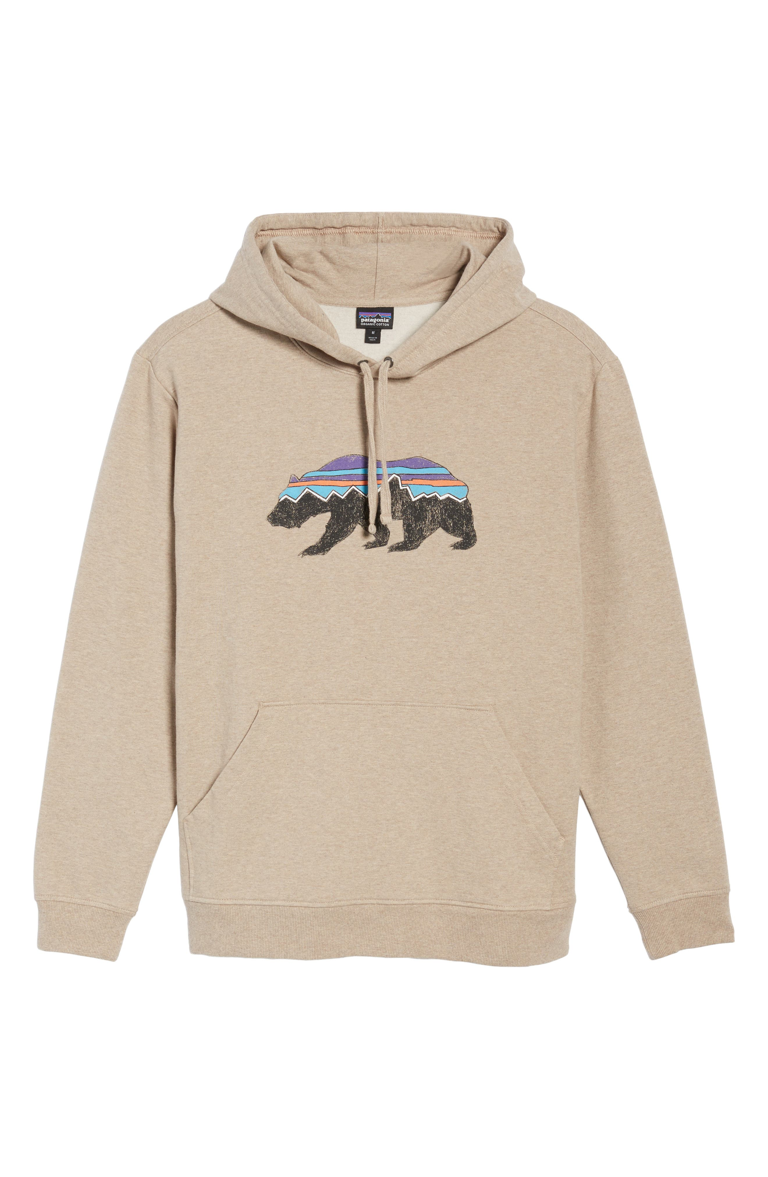 Alternate Image 6  - Patagonia Fitz Roy Bear Graphic Hoodie