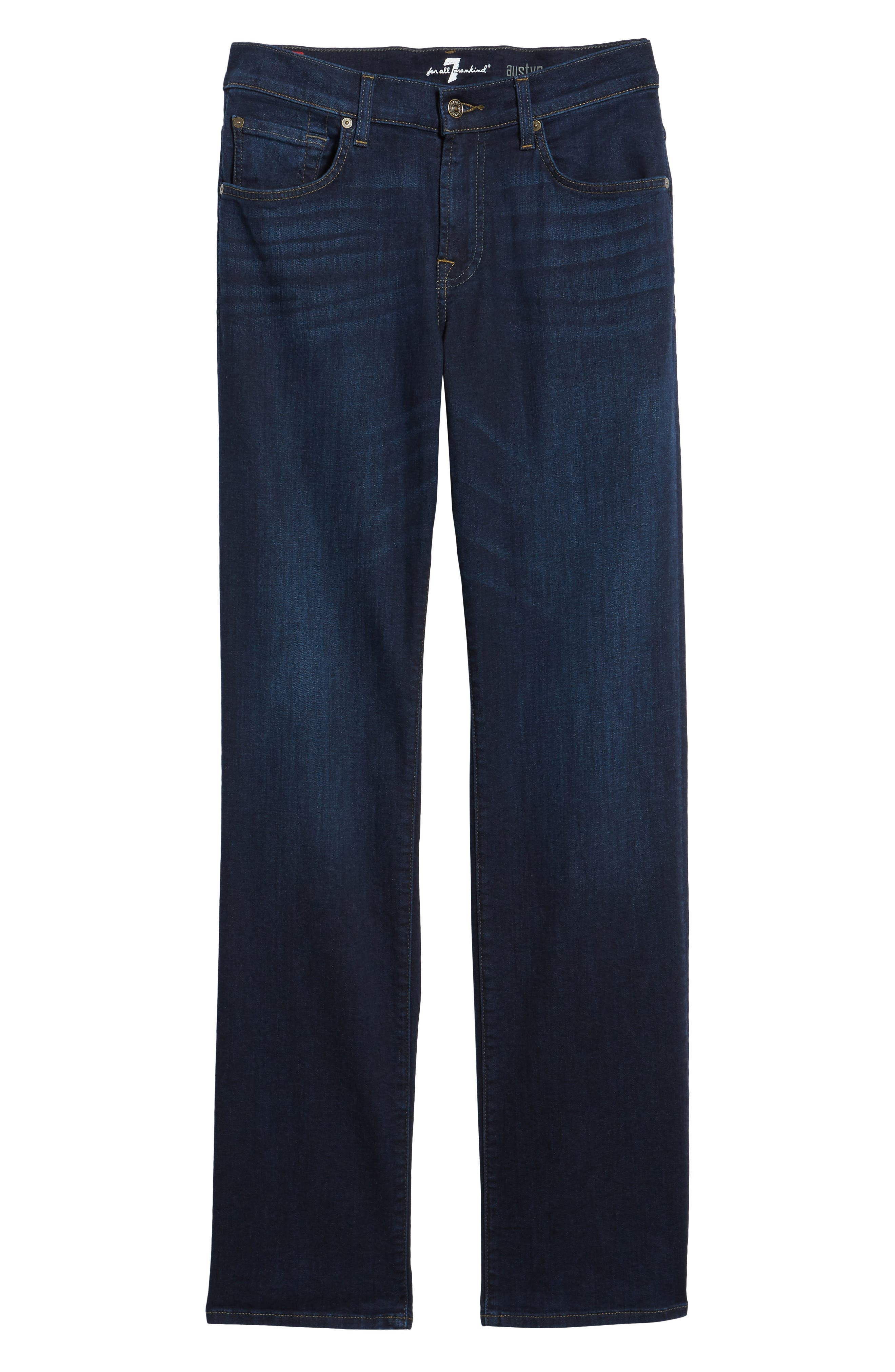 Alternate Image 6  - 7 For All Mankind® Austyn Relaxed Fit Jeans (After Hours)