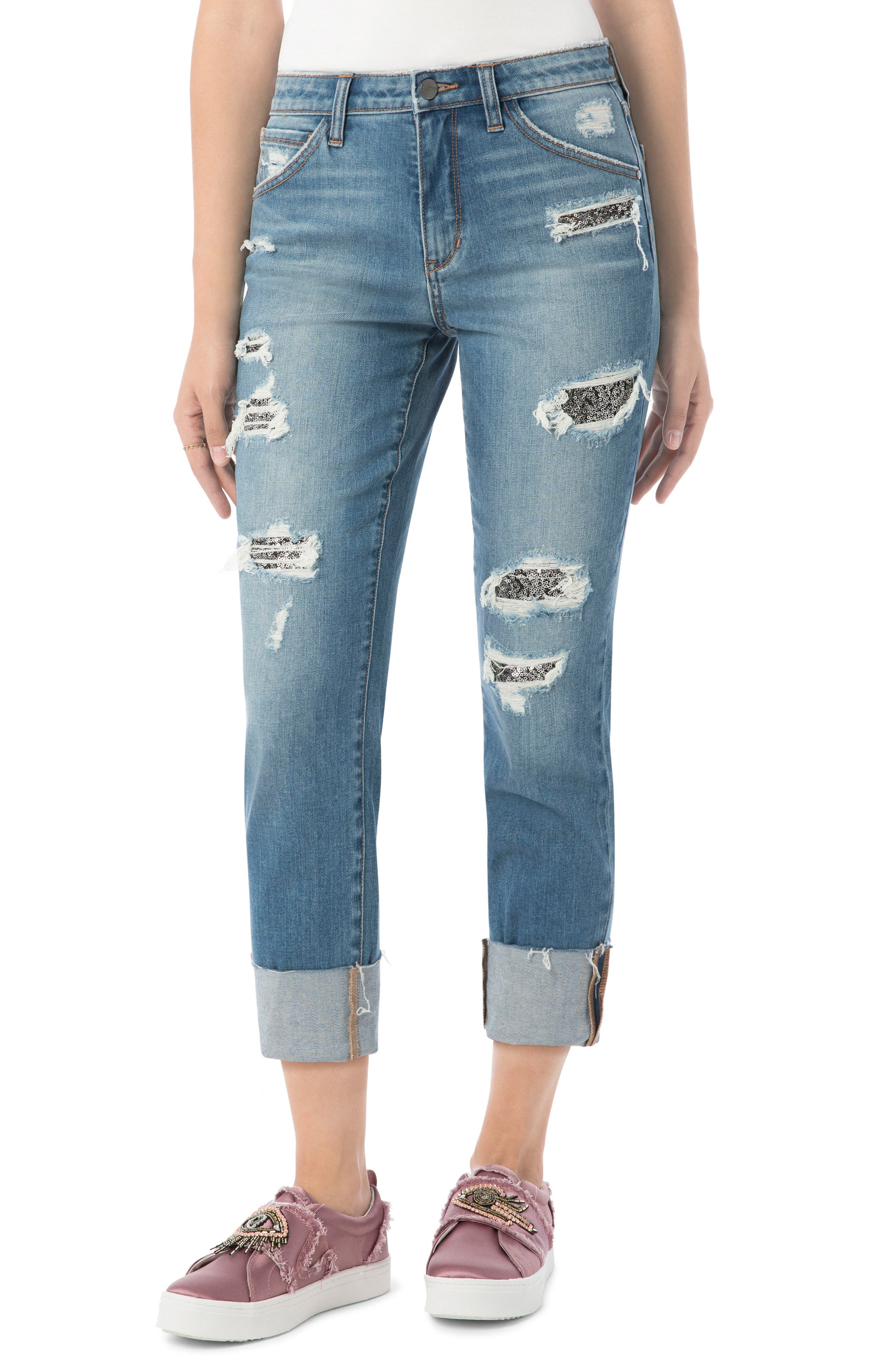 Alternate Image 1 Selected - Sam Edelman The Mary Jane High Rise Jean (Bonnie)
