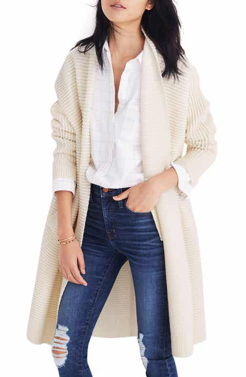 Women's Off-White Cardigan Sweaters | Nordstrom