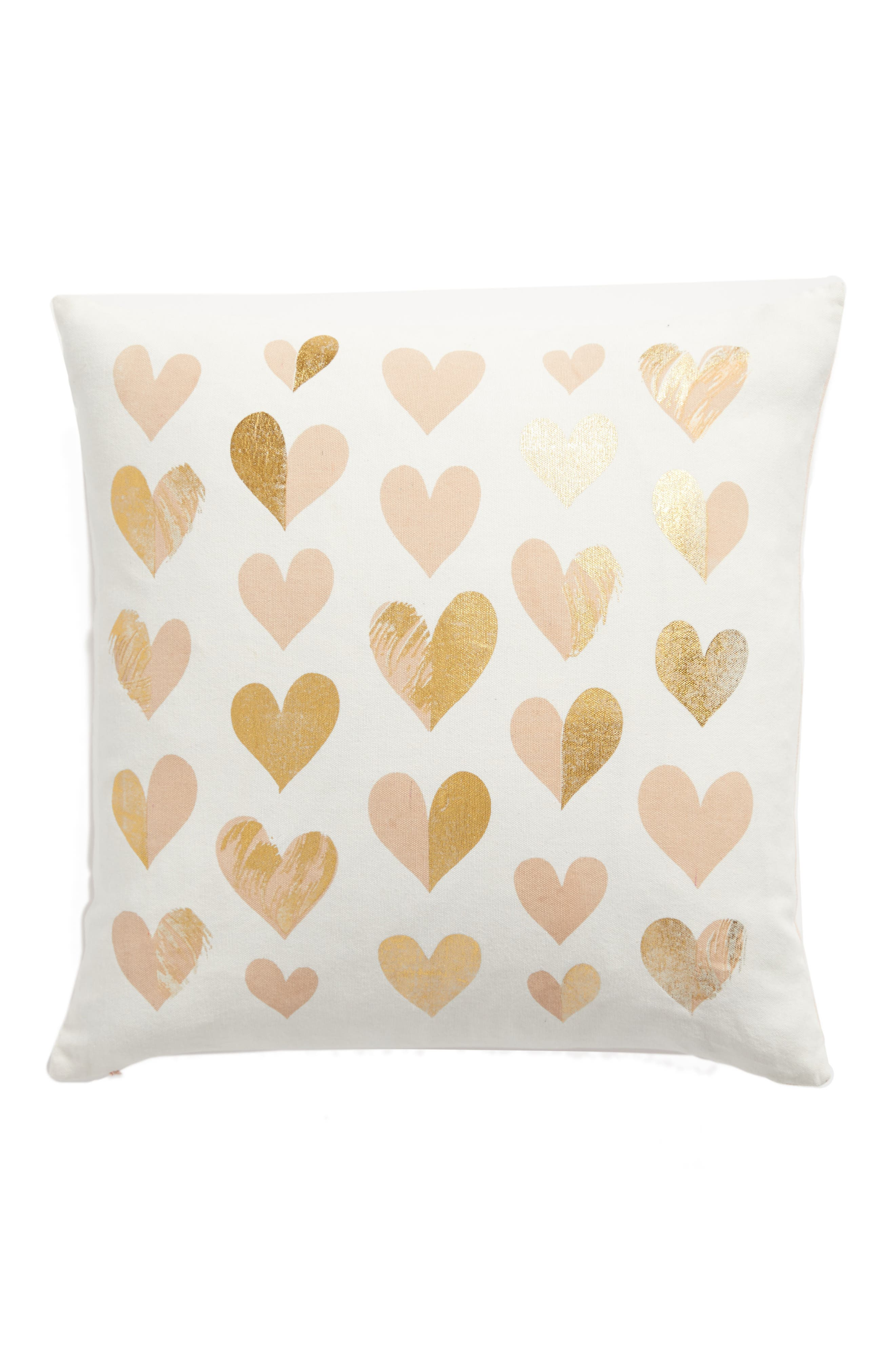 Lots of Love Accent Pillow,                         Main,                         color, Ivory