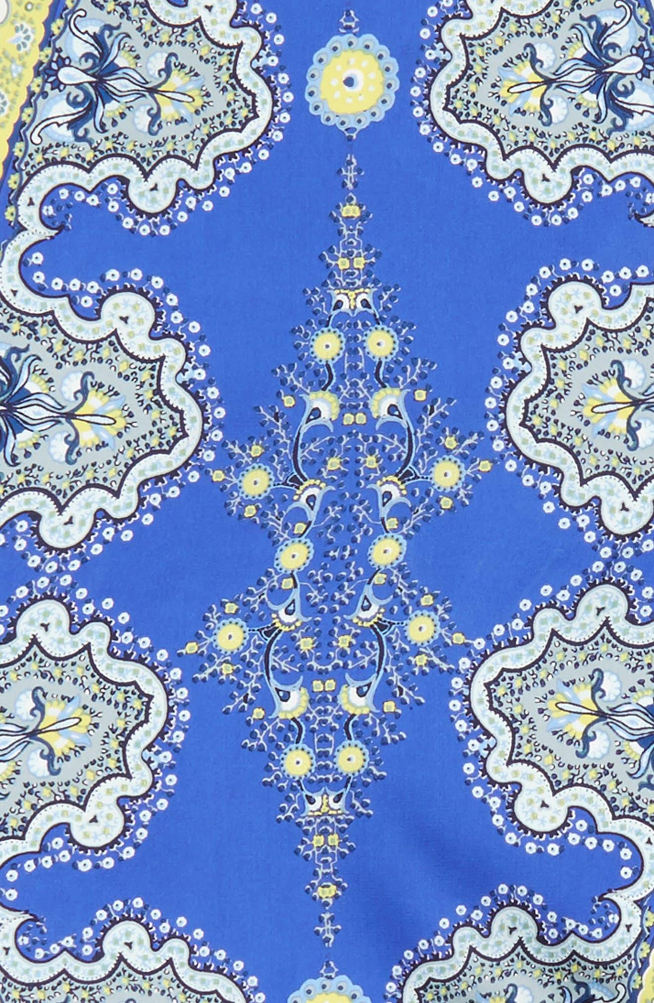 Alternate Image 4  - Echo Paisley Lace Diamond Silk Scarf