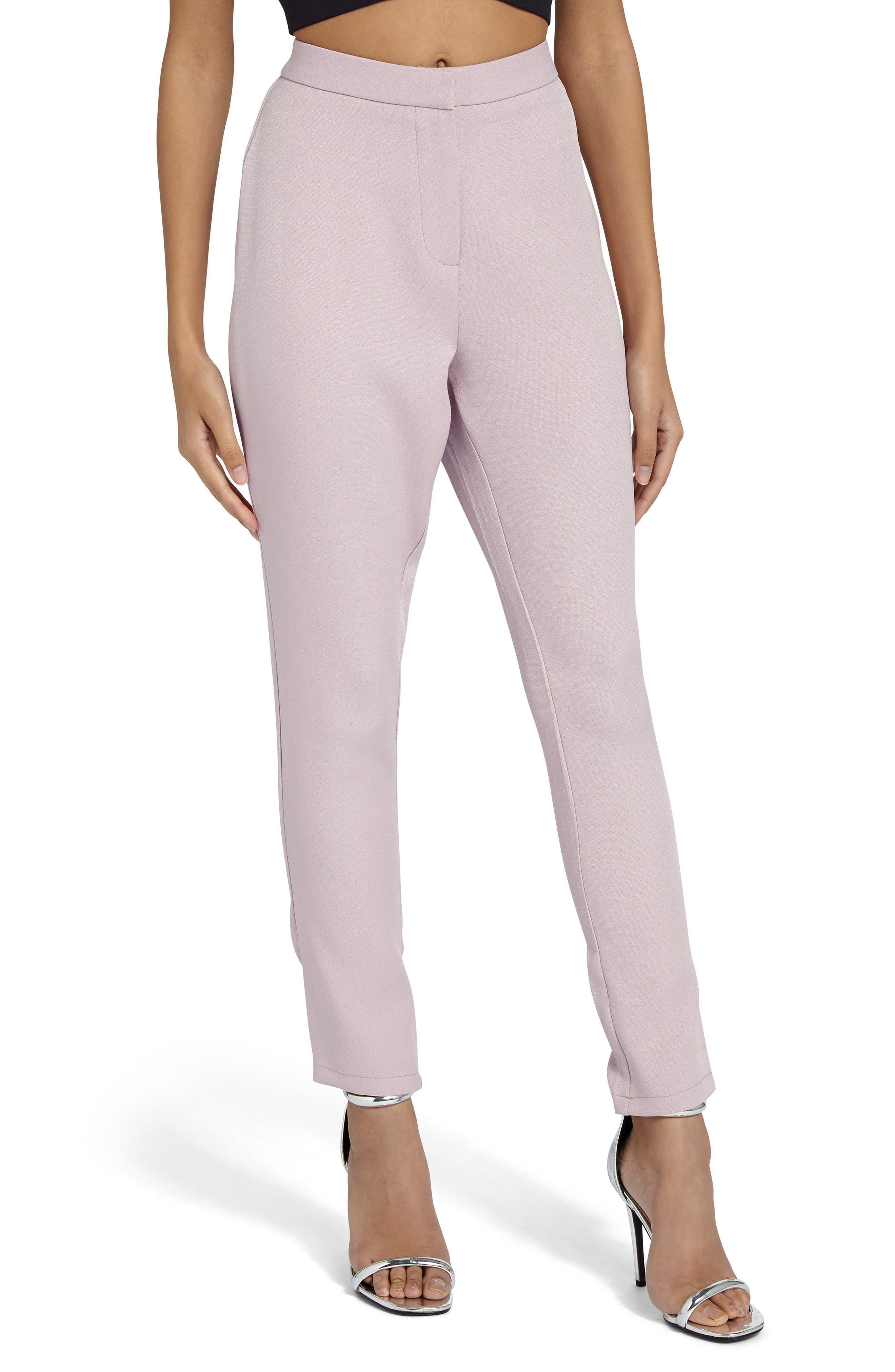 Missguided Crop Cigarette Trousers