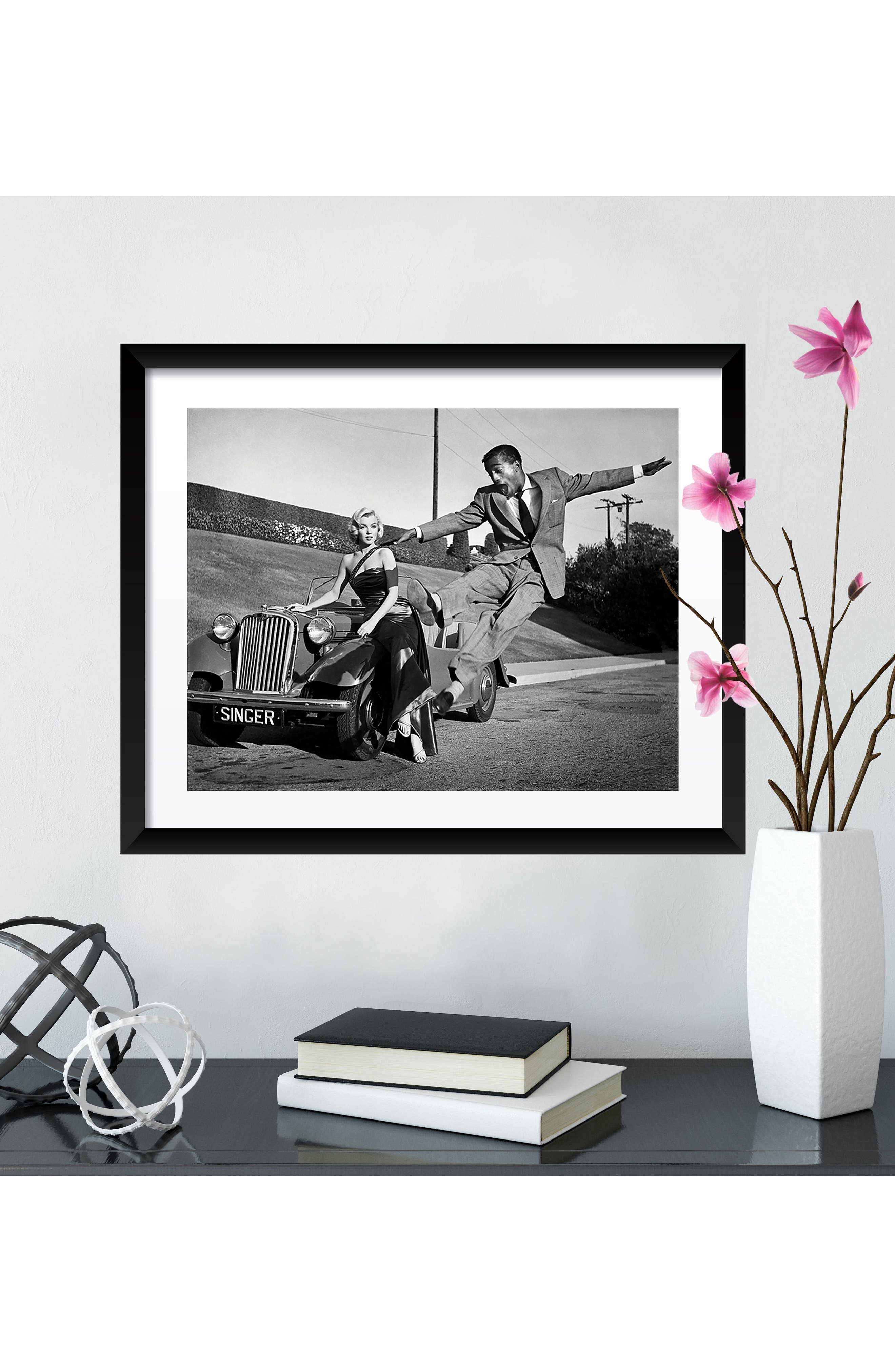 Alternate Image 3  - Artography Limited Marilyn Monroe & Sammy Davis Jr. Fine Art Print