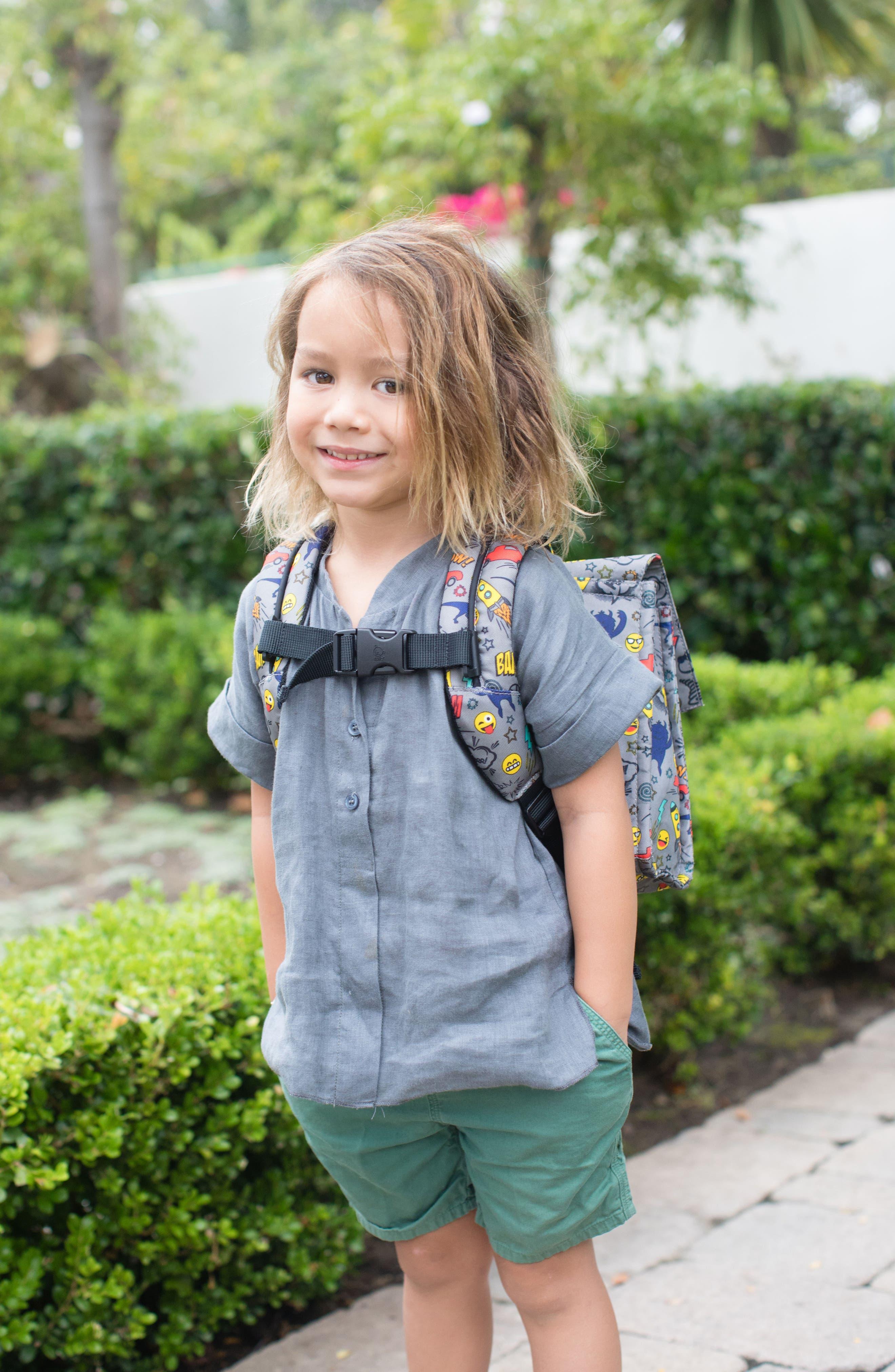 Alternate Image 5  - Baby Tula Stamps Backpack (Toddler)