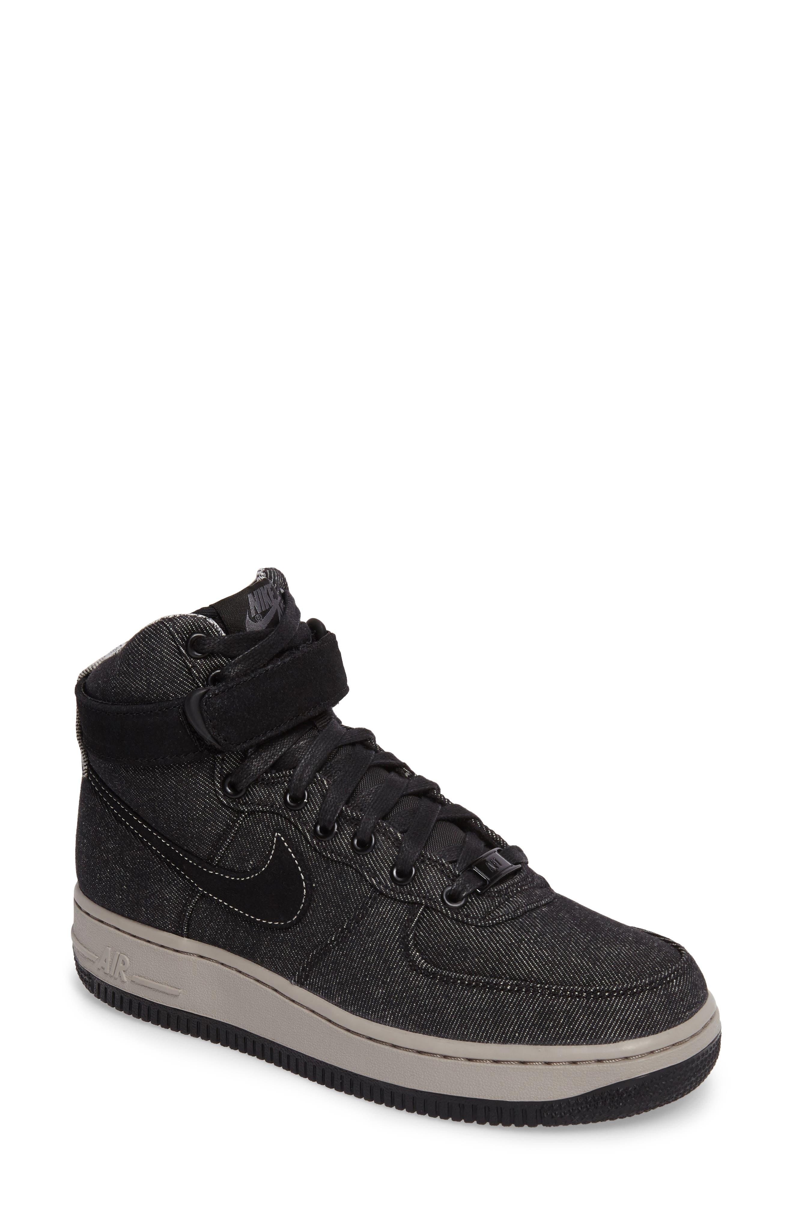 Alternate Image 1 Selected - Nike Air Force 1 High Top SE Sneaker (Women)