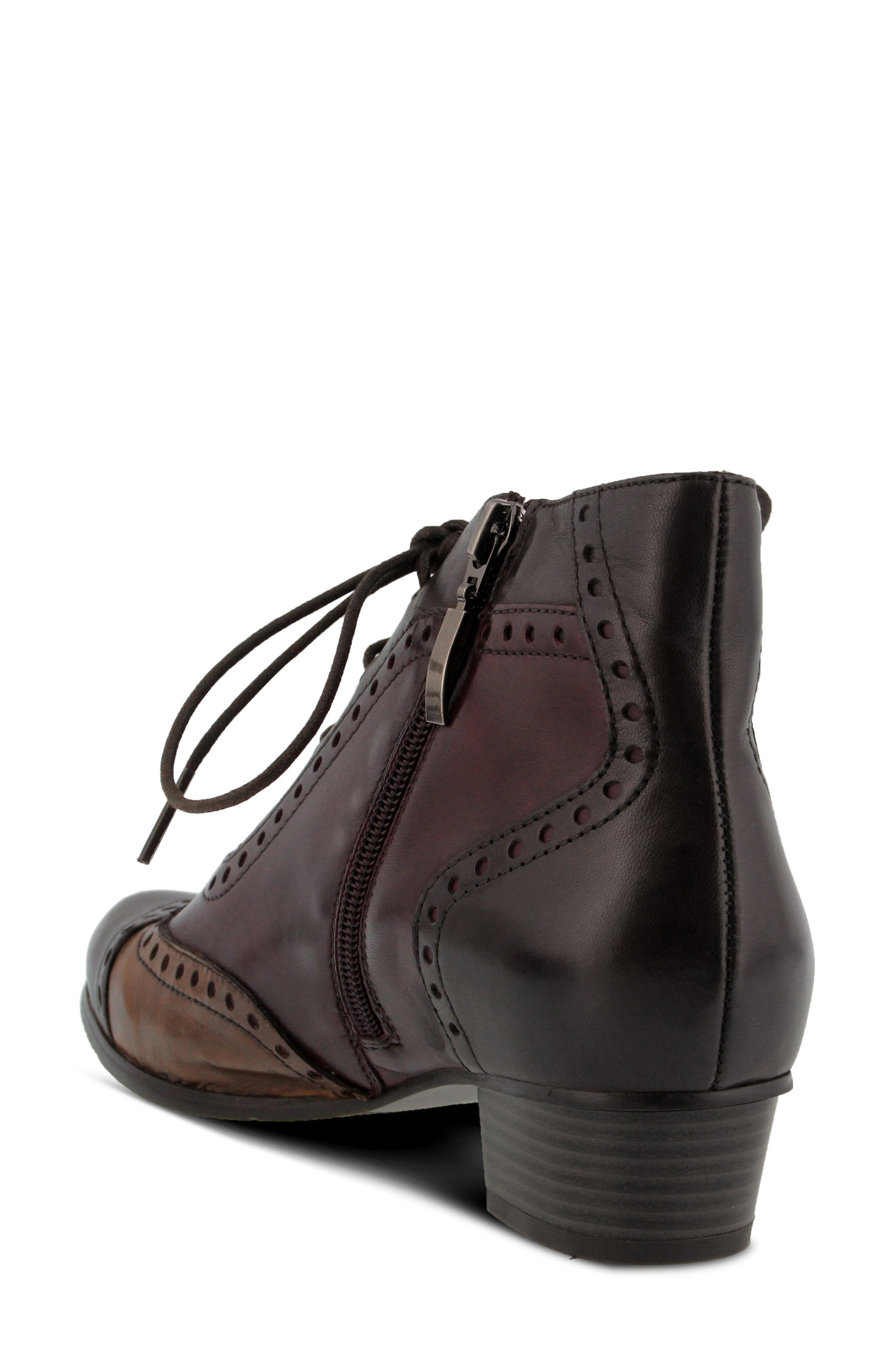 Heroic Bootie,                             Alternate thumbnail 2, color,                             Brown Multi Leather