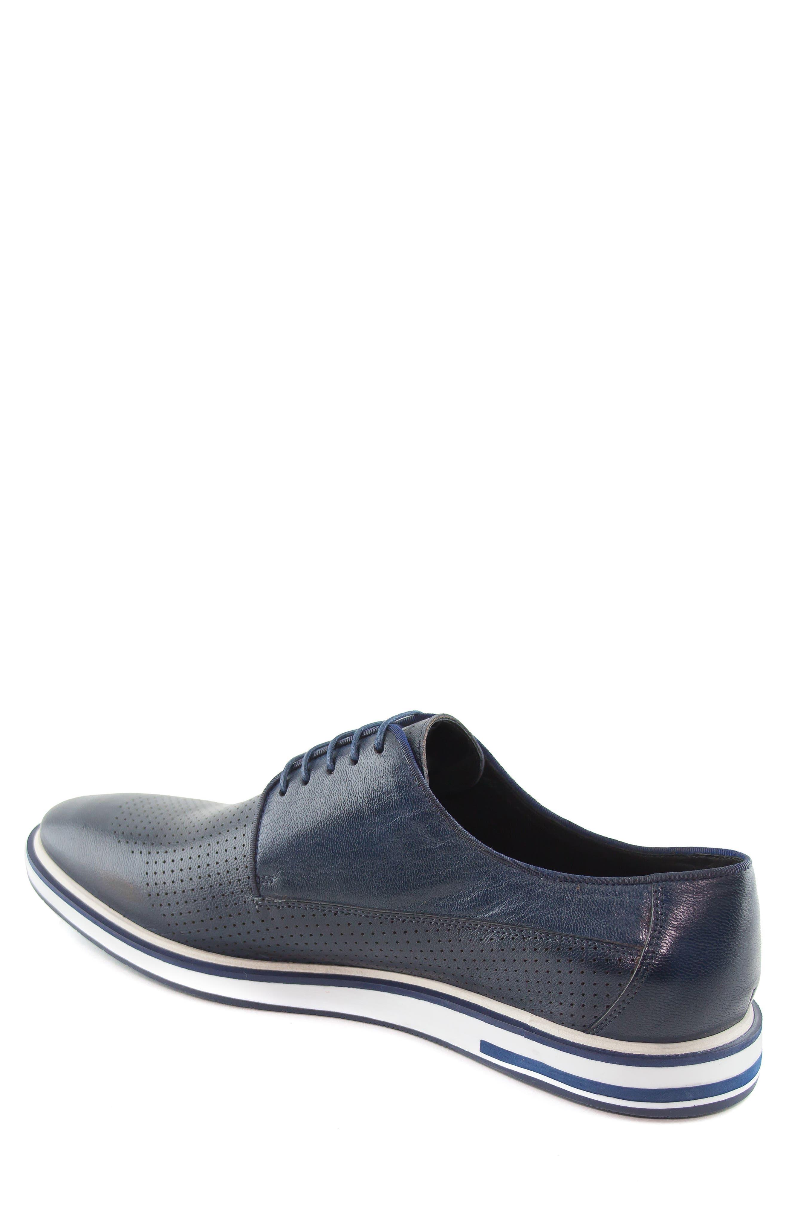 Manhattan Sneaker,                             Alternate thumbnail 2, color,                             Navy